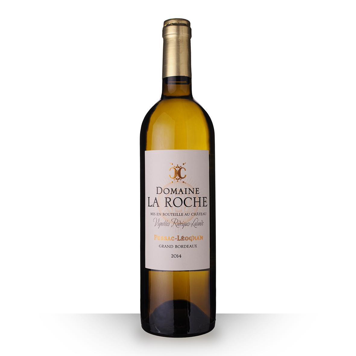 Domaine la Roche Pessac-Léognan Blanc 2014 75cl www.odyssee-vins.com