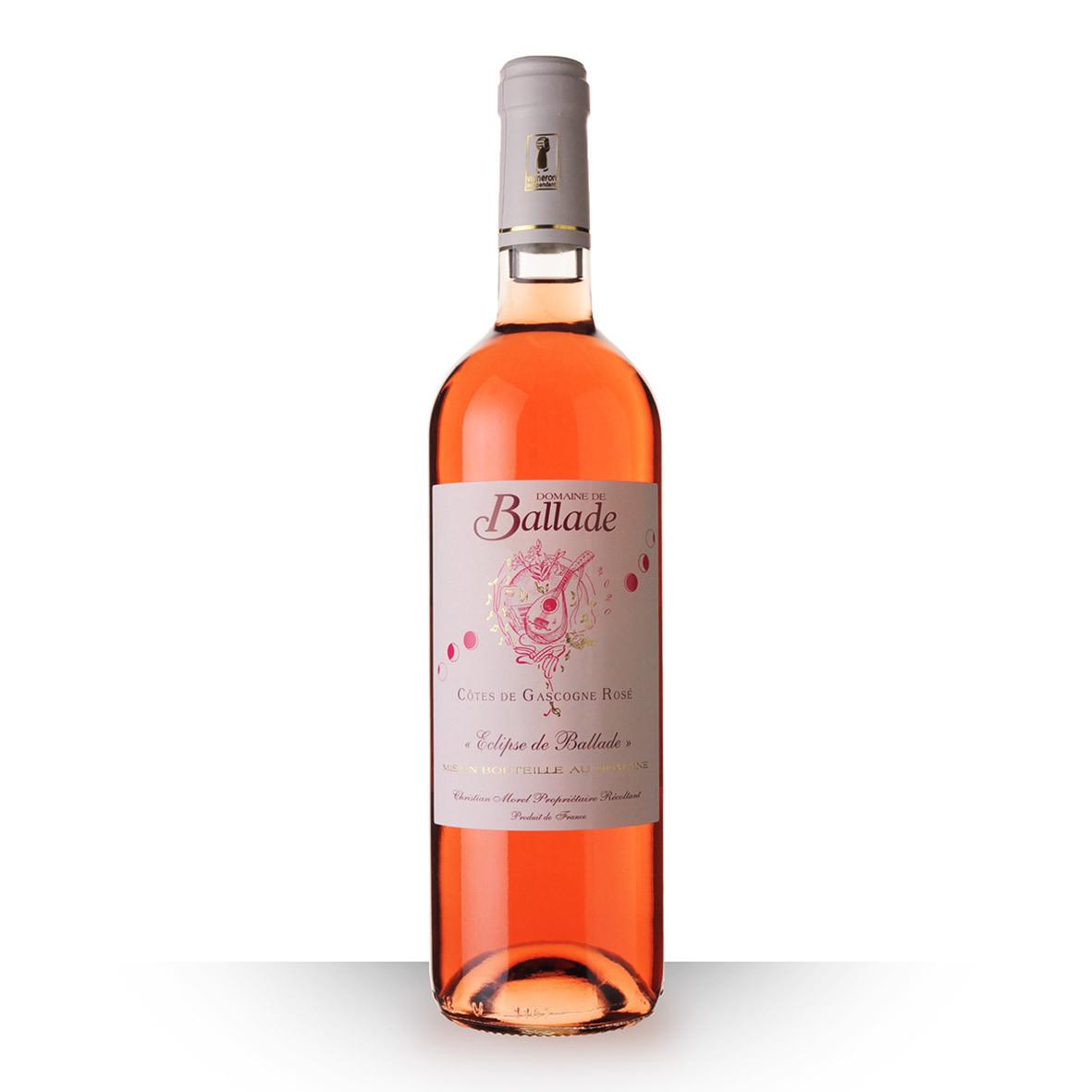 Domaine de Ballade Côtes de Gascogne Rosé 2020 75cl www.odyssee-vins.com