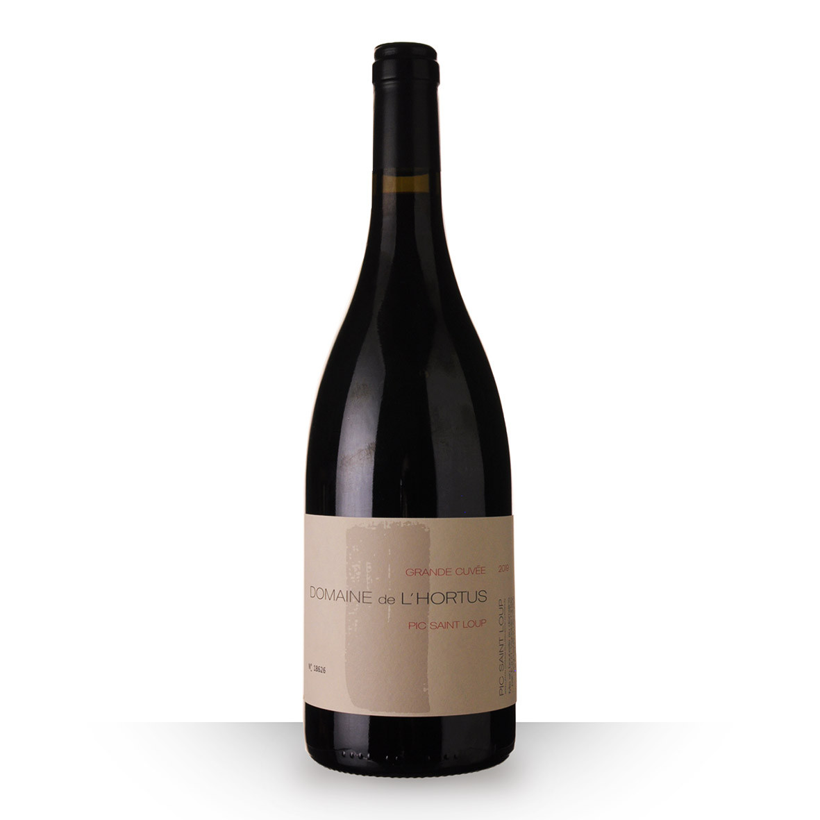 Domaine de lHortus Grande Cuvée Pic Saint Loup Rouge 2019 75cl www.odyssee-vins.com