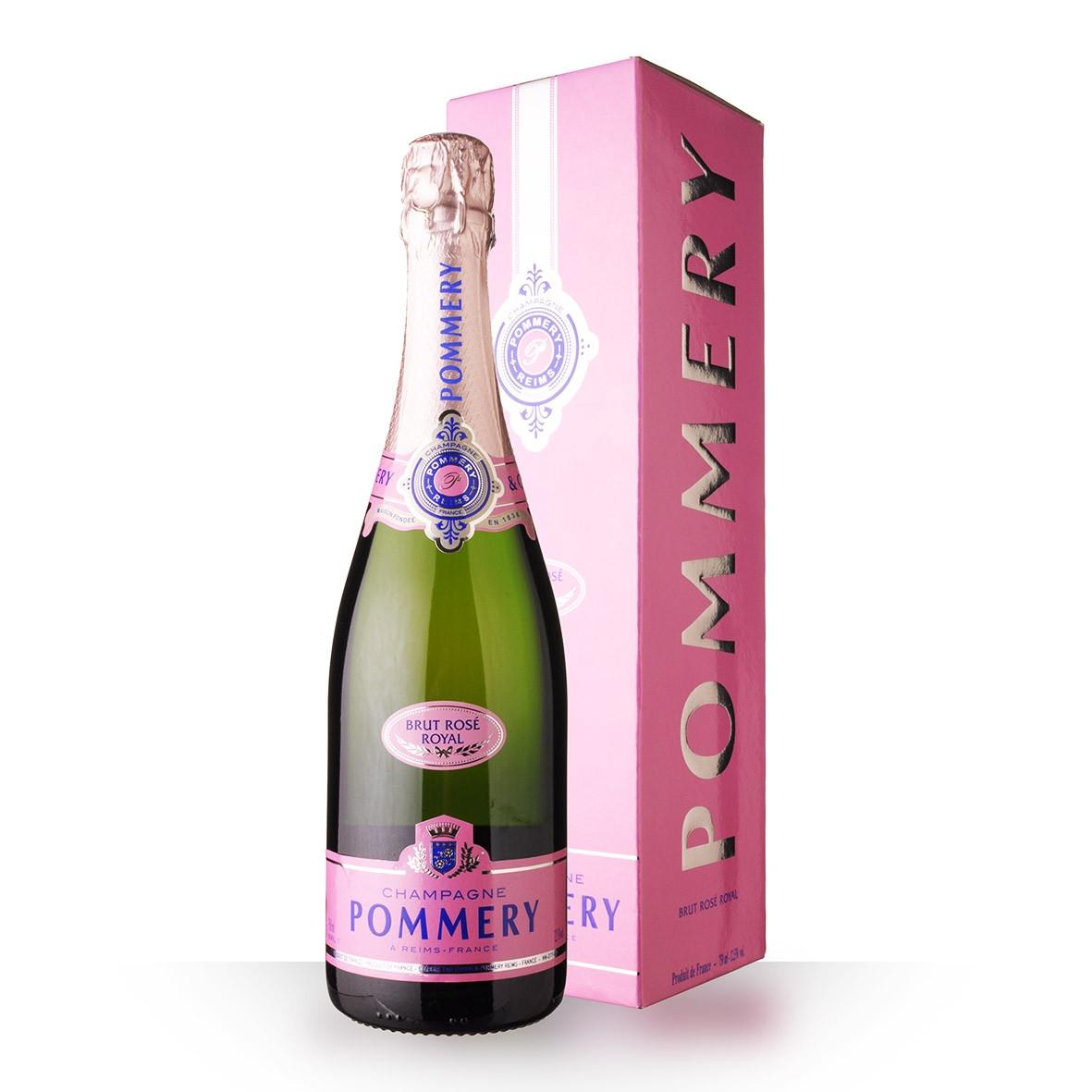 Champagne Pommery Brut Rosé 75cl Etui www.odyssee-vins.com