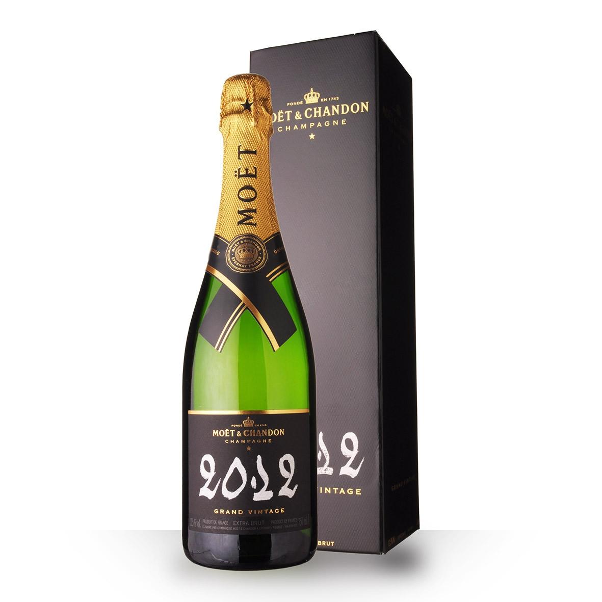 Champagne Moët et Chandon Grand Vintage 2012 Extra Brut 75cl Etui www.odyssee-vins.com