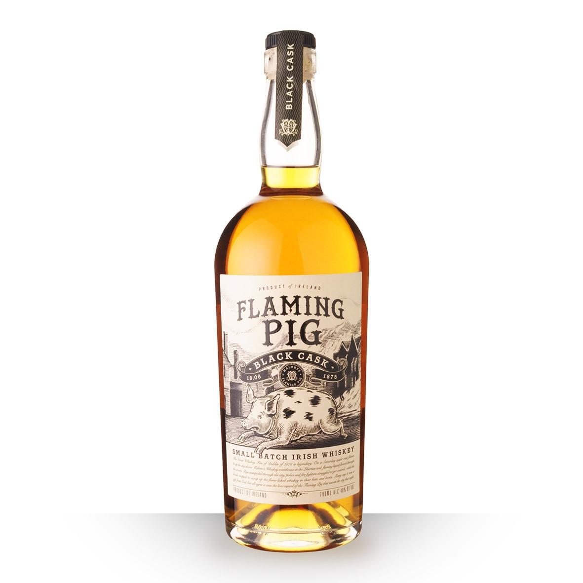 Whisky Flaming Pig Black Cask 70cl www.odyssee-vins.com