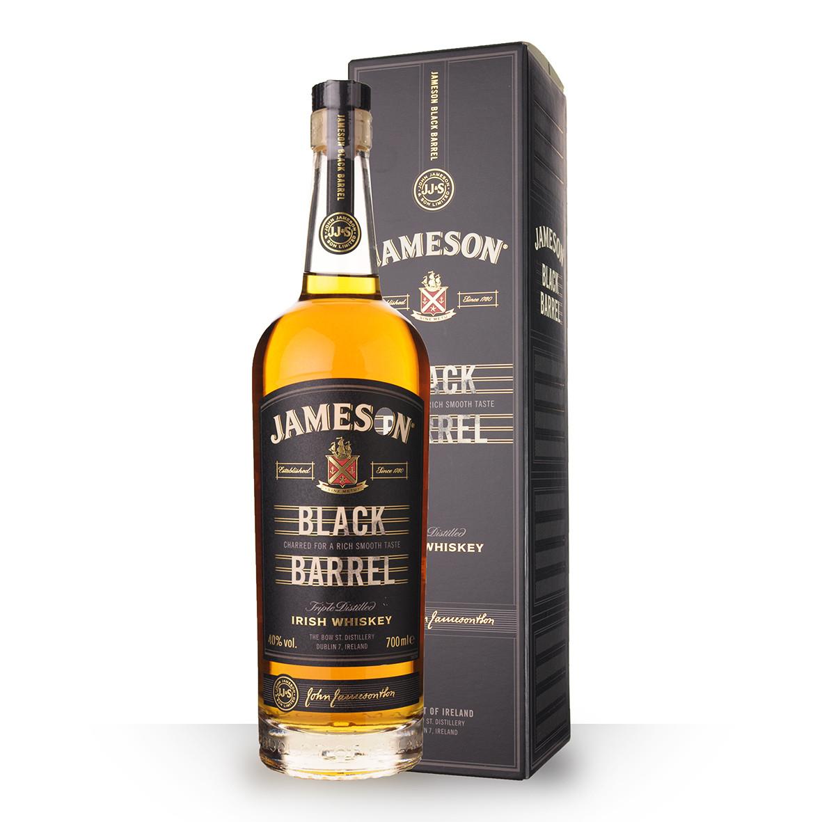 Whisky Jameson Black Barrel 70cl Etui www.odyssee-vins.com