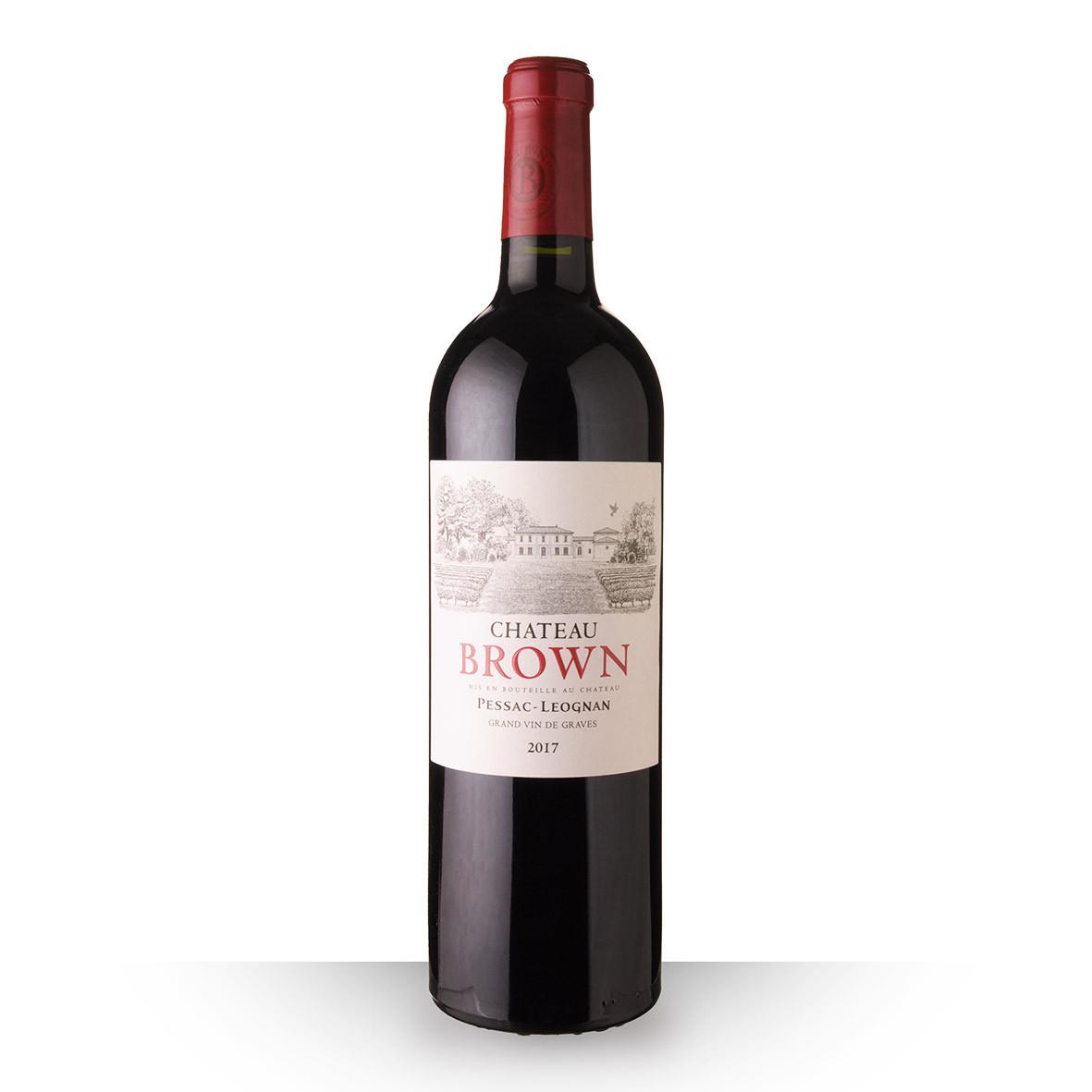 Château Brown Pessac-Léognan Rouge 2017 75cl www.odyssee-vins.com