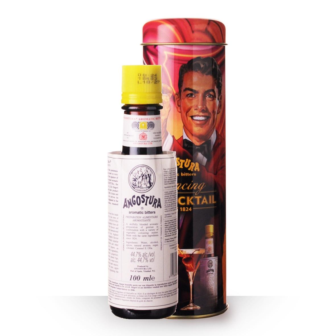 Aromatic Bitters Angostura 10cl Coffret Métal www.odyssee-vins.com