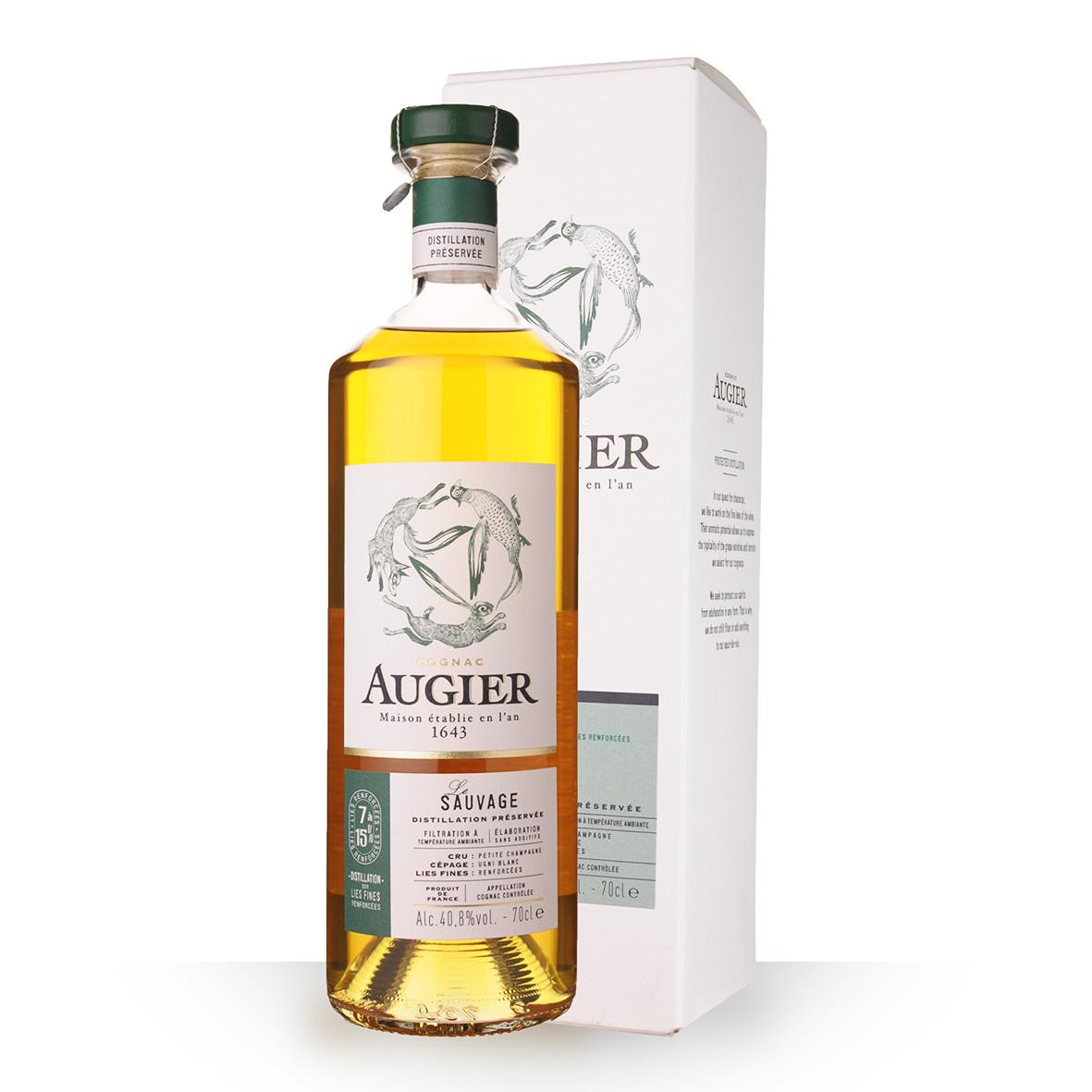 Cognac Augier Le Sauvage 70cl Etui www.odyssee-vins.com