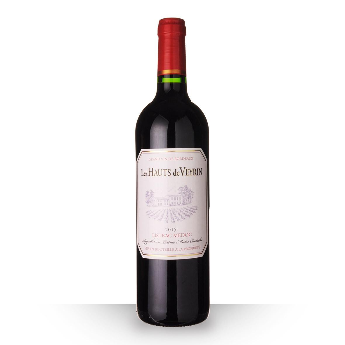Les Hauts de Veyrin Listrac-Médoc Rouge 2015 75cl www.odyssee-vins.com