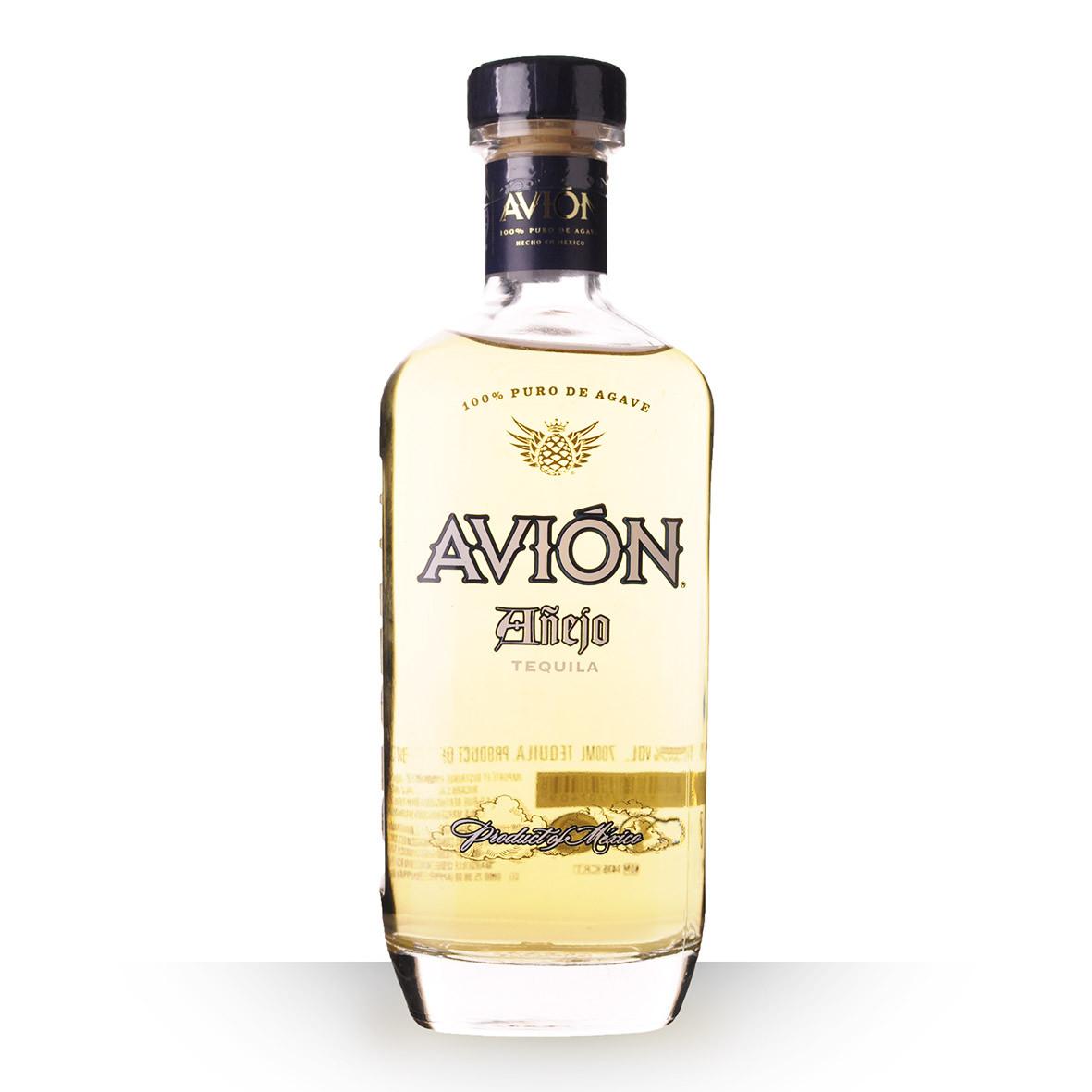 Tequila Avión Añejo 70cl www.odyssee-vins.com