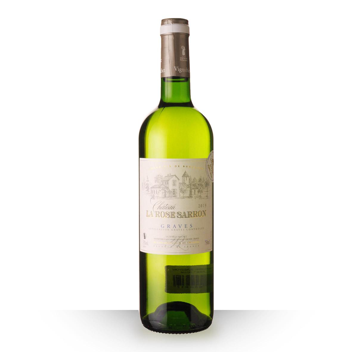 Château la Rose Sarron Graves Blanc 2019 75cl www.odyssee-vins.com