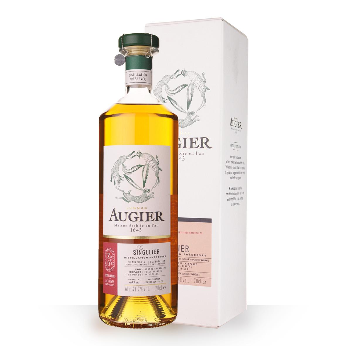 Cognac Augier Le Singulier 70cl Etui www.odyssee-vins.com