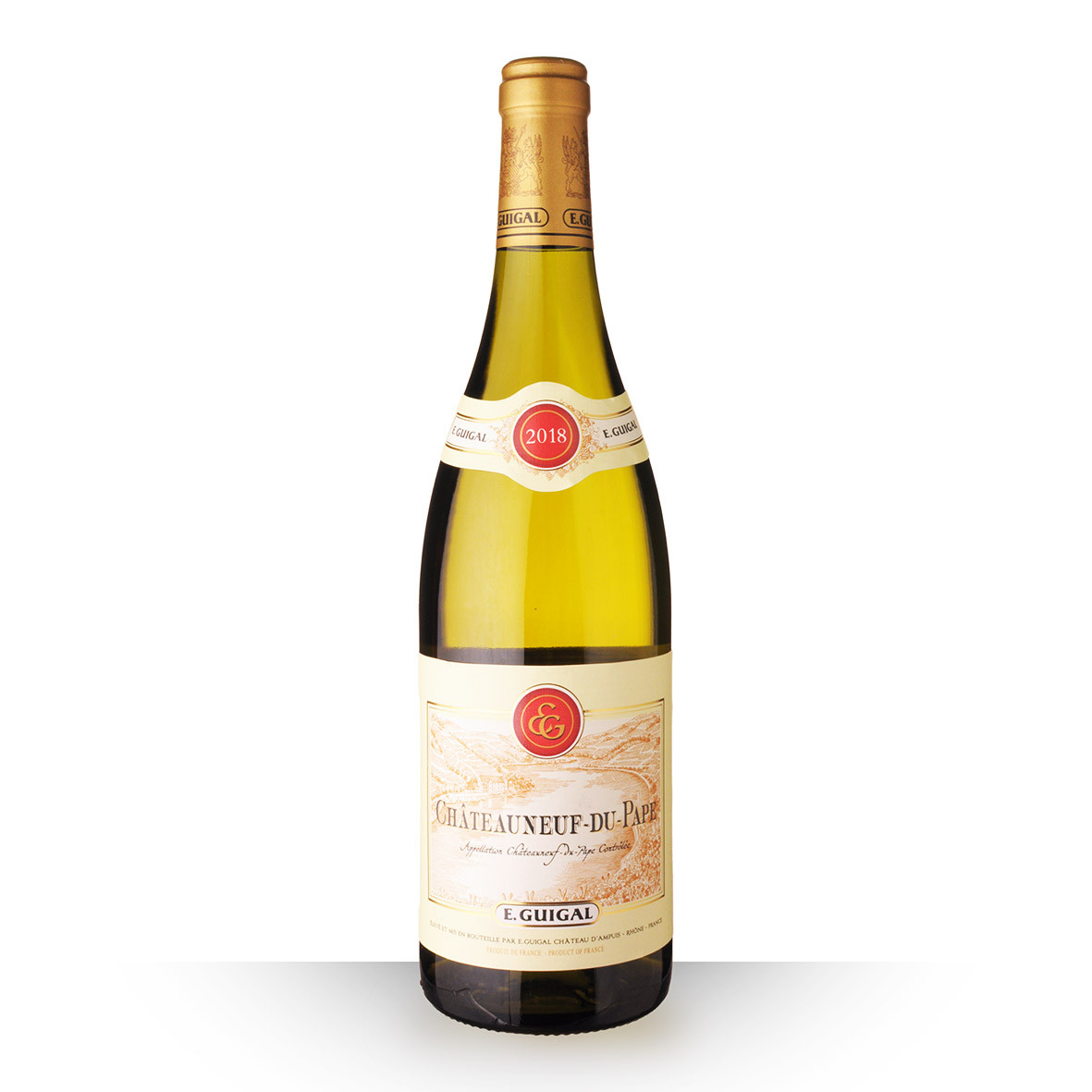 Guigal Châteauneuf-du-Pape Blanc 2018 75cl www.odyssee-vins.com