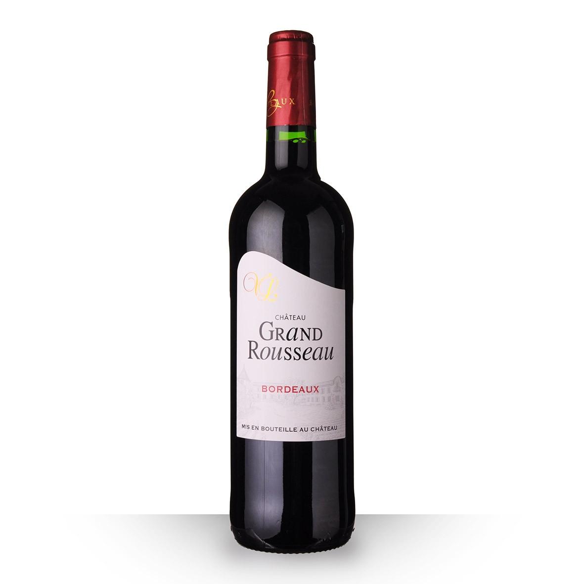 Château Grand Rousseau Bordeaux Rouge 2016 75cl www.odyssee-vins.com