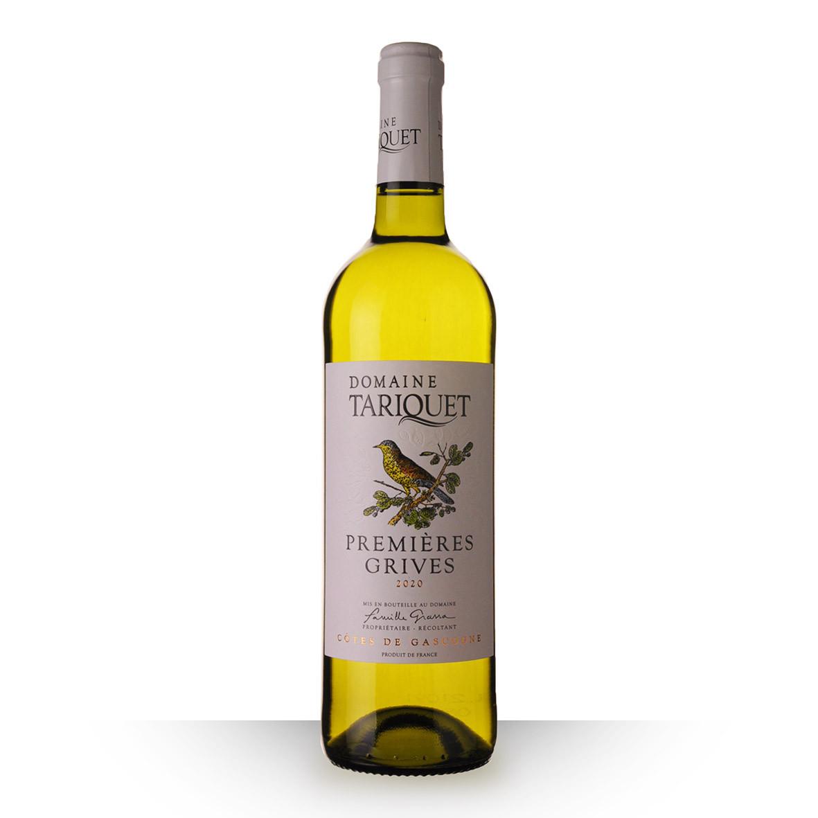 Domaine du Tariquet Premières grives Côtes de Gascogne Blanc 2020 75cl www.odyssee-vins.com