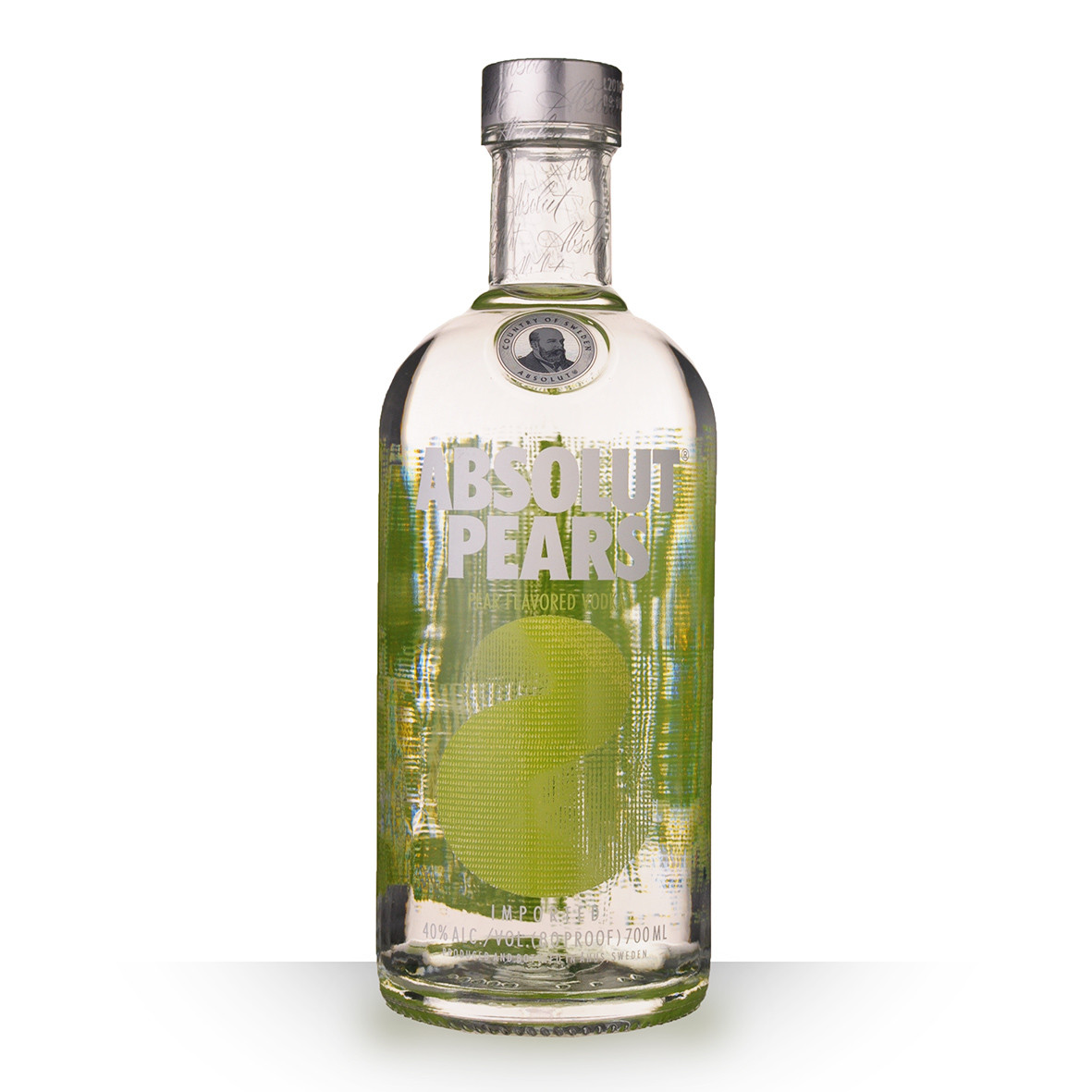 Vodka Absolut Pears (Poires) 70cl www.odyssee-vins.com