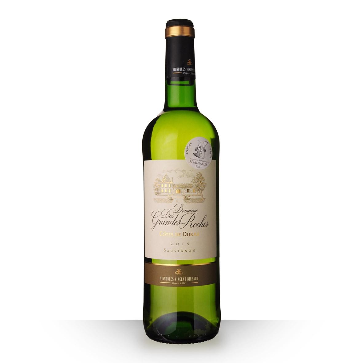 Domaine des Grandes Roches Sauvignon Côtes de Duras Blanc 2015 75cl www.odyssee-vins.com