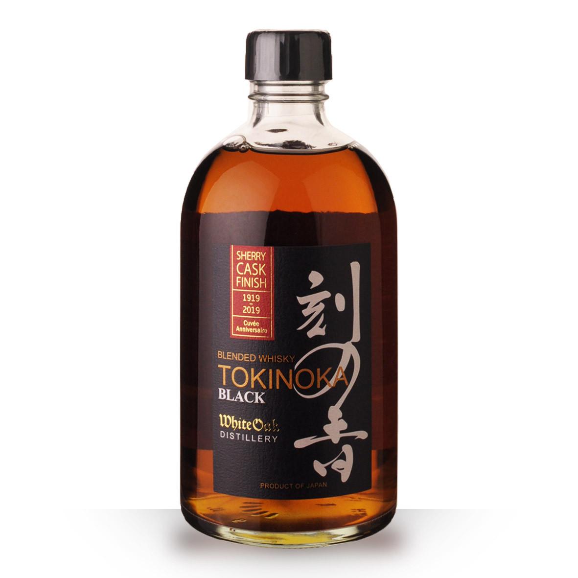 Whisky Tokinoka Black Sherry Finish 50cl Etui www.odyssee-vins.com