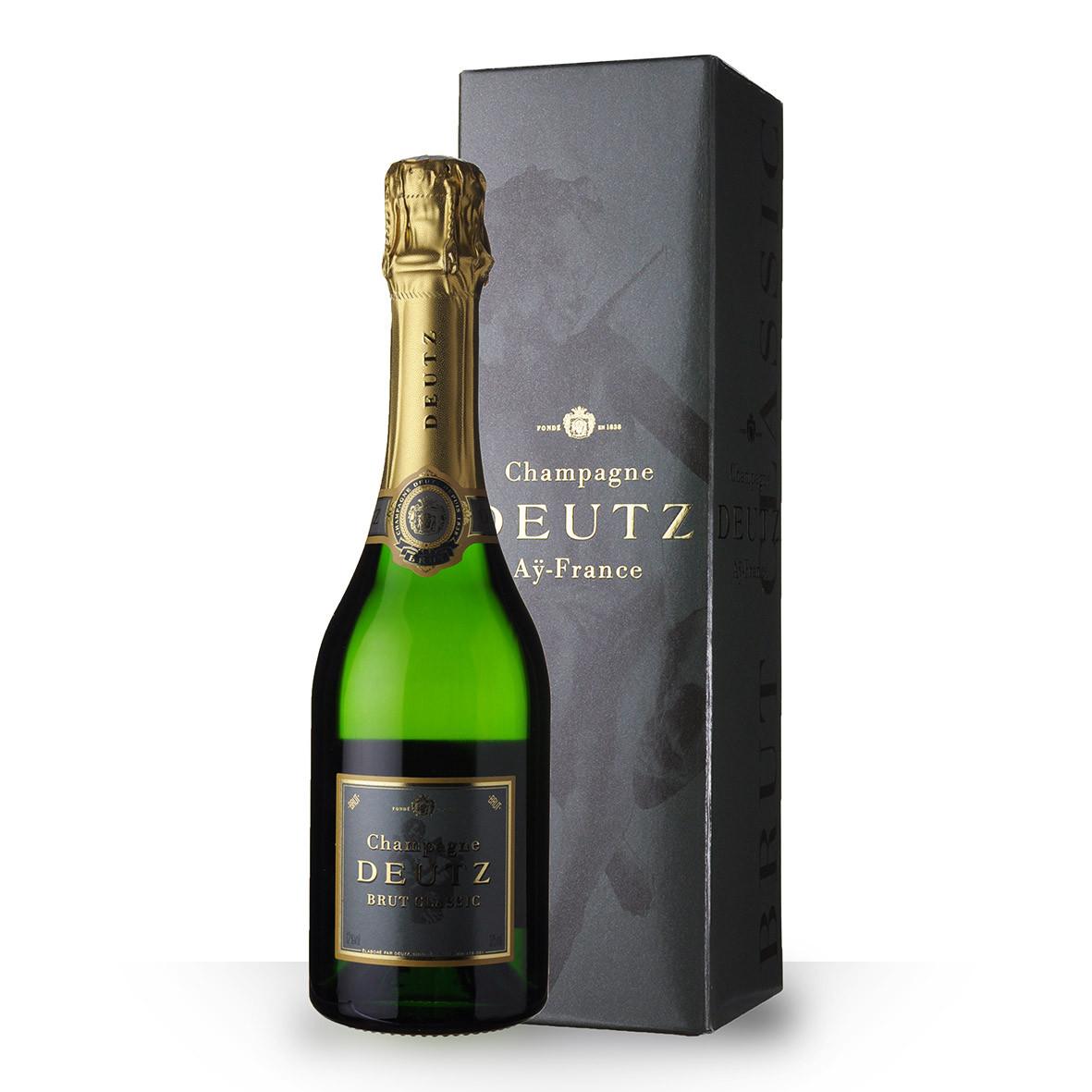 Champagne Deutz Brut Classic 37,5cl Etui www.odyssee-vins.com