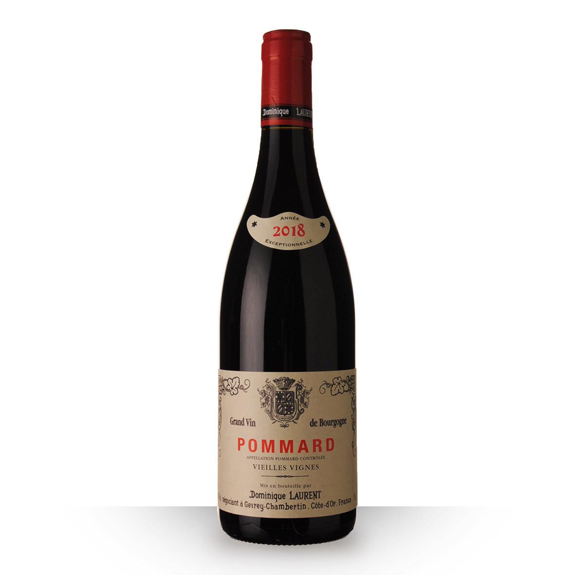Dominique Laurent Vieilles Vignes Pommard Rouge 2018 75cl www.odyssee-vins.com