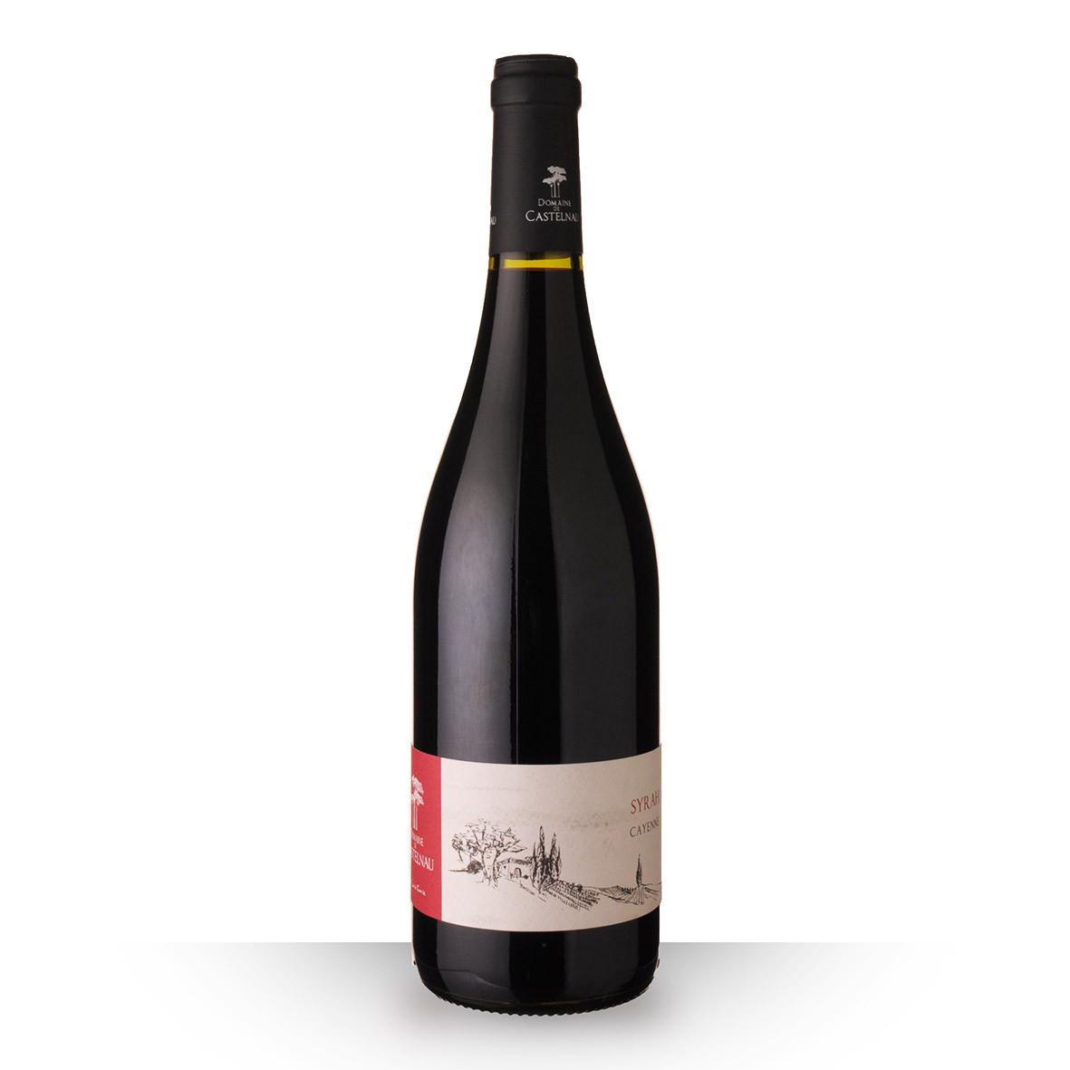 Domaine de Castelnau Syrah Cayenne Pays dOc Rouge 2019 75cl www.odyssee-vins.com