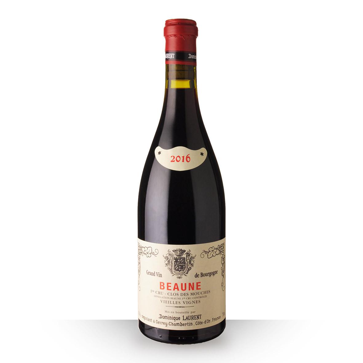 Dominique Laurent Vieilles Vignes Beaune 1er Cru Clos des Mouches Rouge 2016 75cl www.odyssee-vins.com