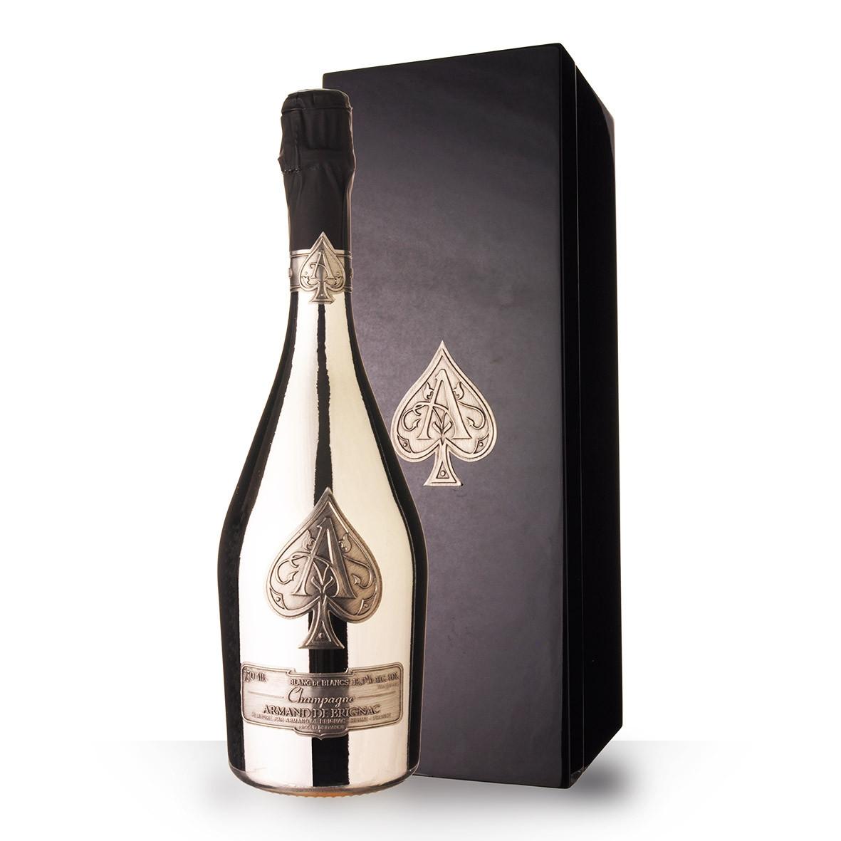 Champagne Armand de Brignac Blanc de Blancs 75cl Coffret www.odyssee-vins.com