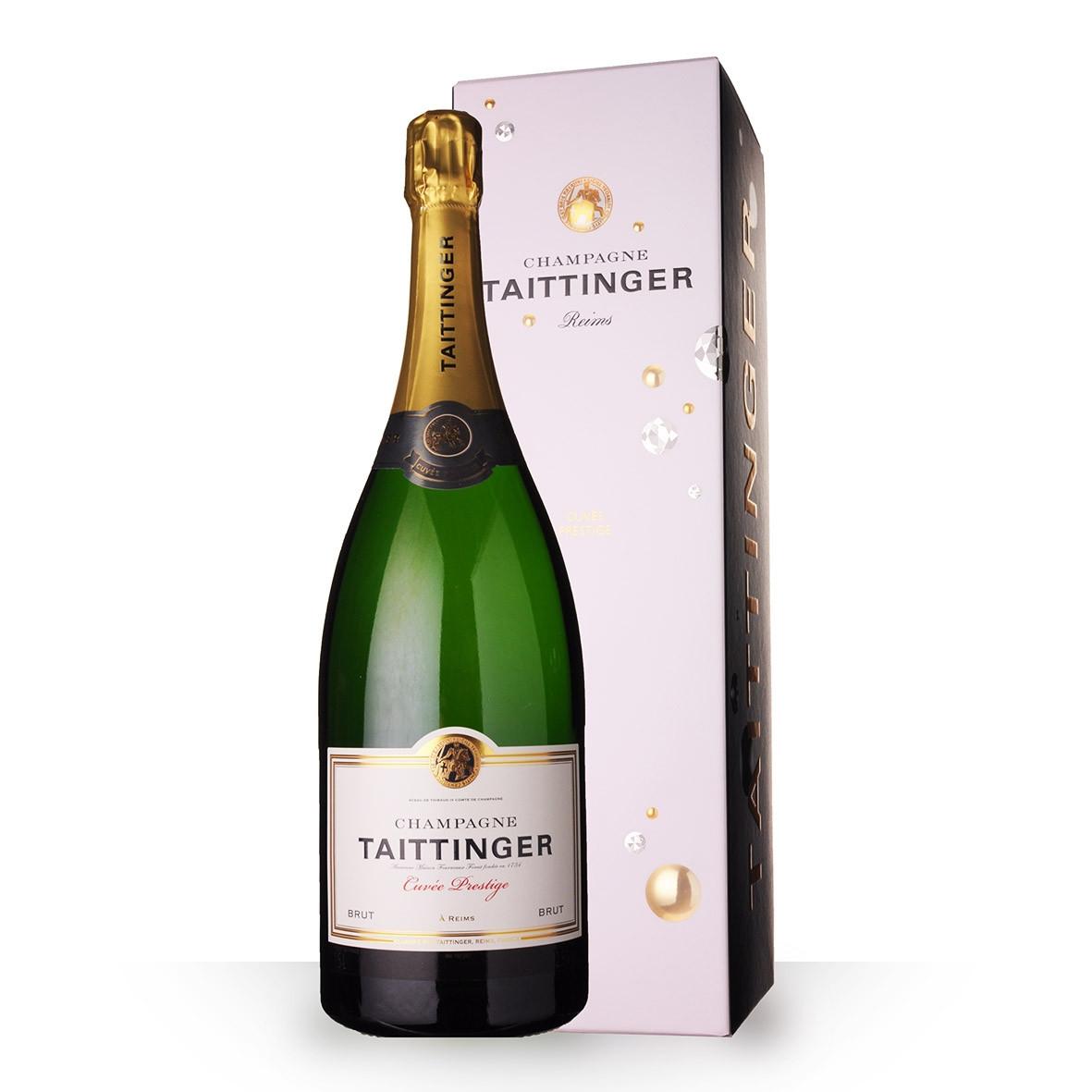 Champagne Taittinger Prestige 150cl Etui www.odyssee-vins.com