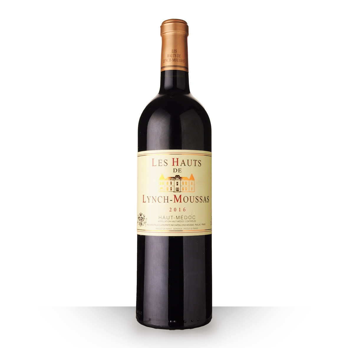 Les Hauts du Château Lynch-Moussas Haut-Médoc Rouge 2016 75cl www.odyssee-vins.com