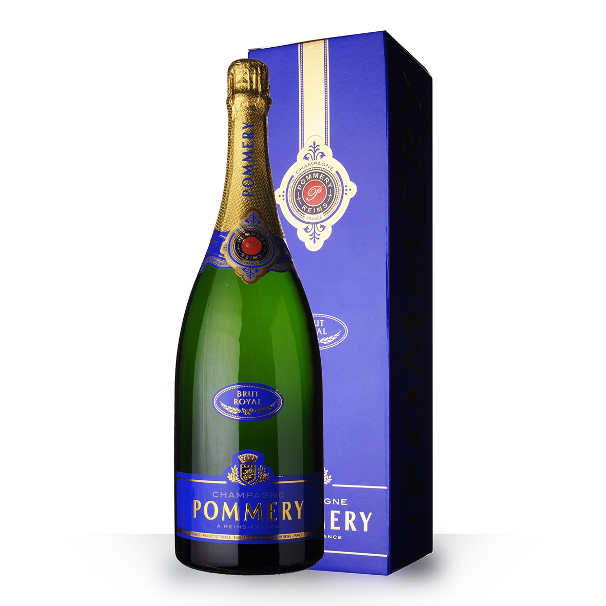 Champagne Pommery Brut Royal 150cl Etui www.odyssee-vins.com