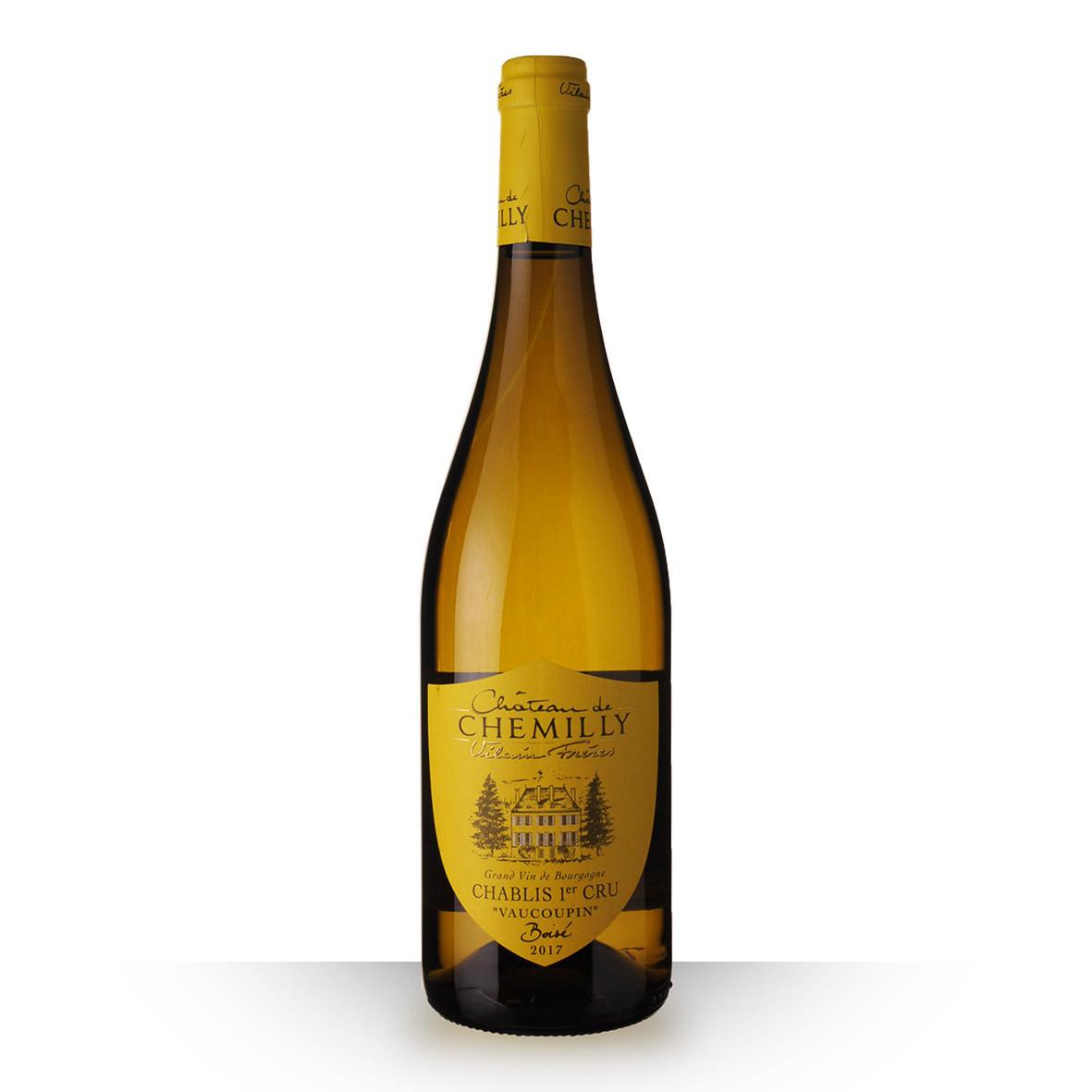 Château de Chemilly Chablis 1er Cru Vaucoupin Blanc 2017 75cl www.odyssee-vins.com