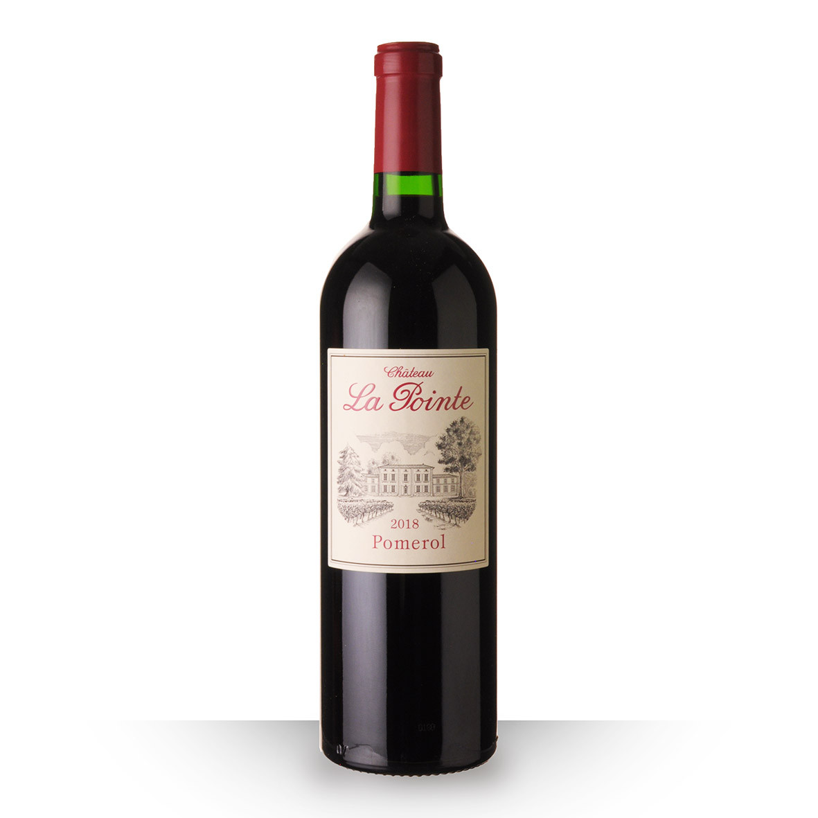 Château la Pointe Pomerol Rouge 2018 75cl www.odyssee-vins.com