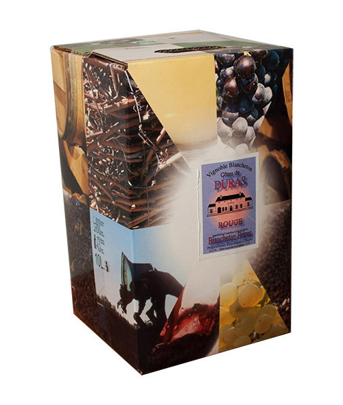 Bag-In-Box 5L Vignobles Blancheton Côtes de Duras Rouge www.odyssee-vins.com
