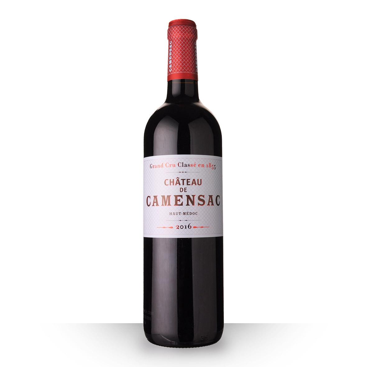 Château de Camensac Haut-Médoc Rouge 2016 75cl www.odyssee-vins.com