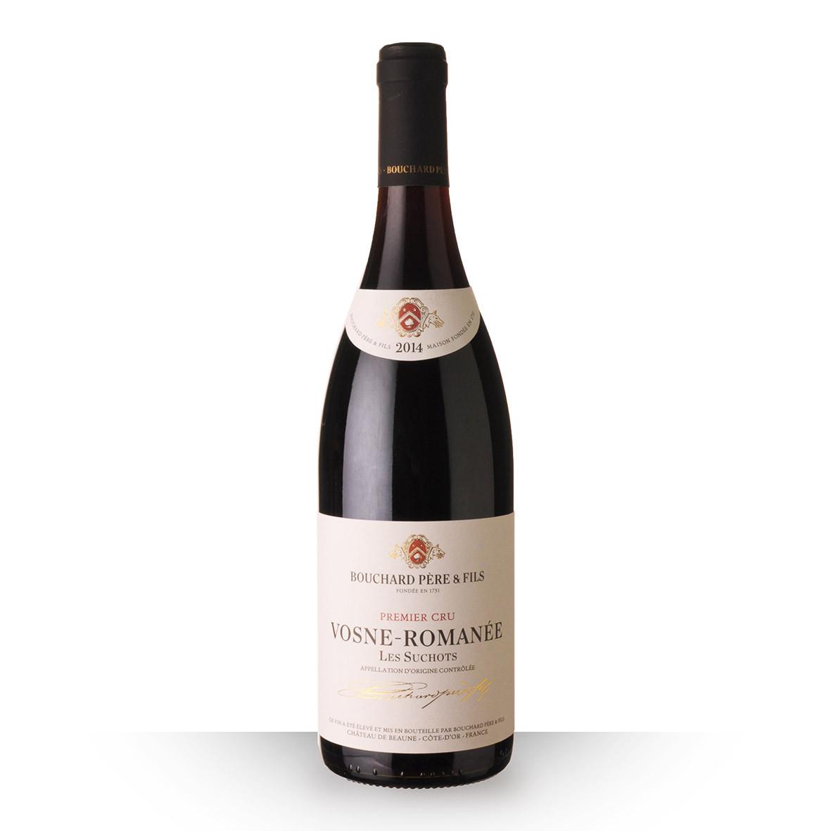 Bouchard Père et Fils Vosne-Romanée 1er Cru les Suchots Rouge 2014 75cl www.odyssee-vins.com