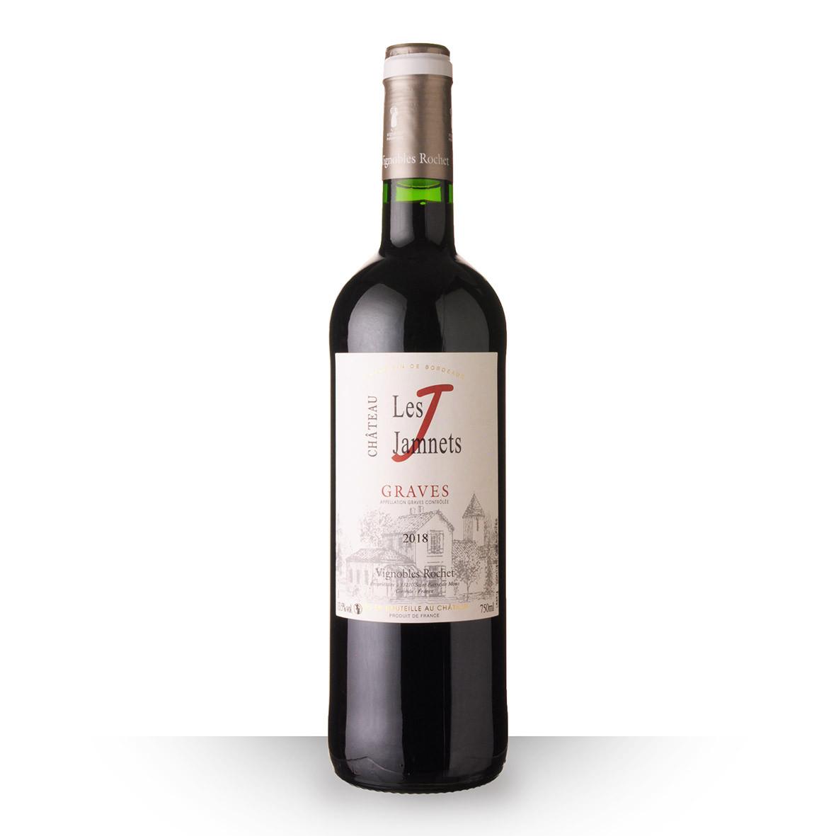 Château les Jamnets Graves Rouge 2018 75cl www.odyssee-vins.com