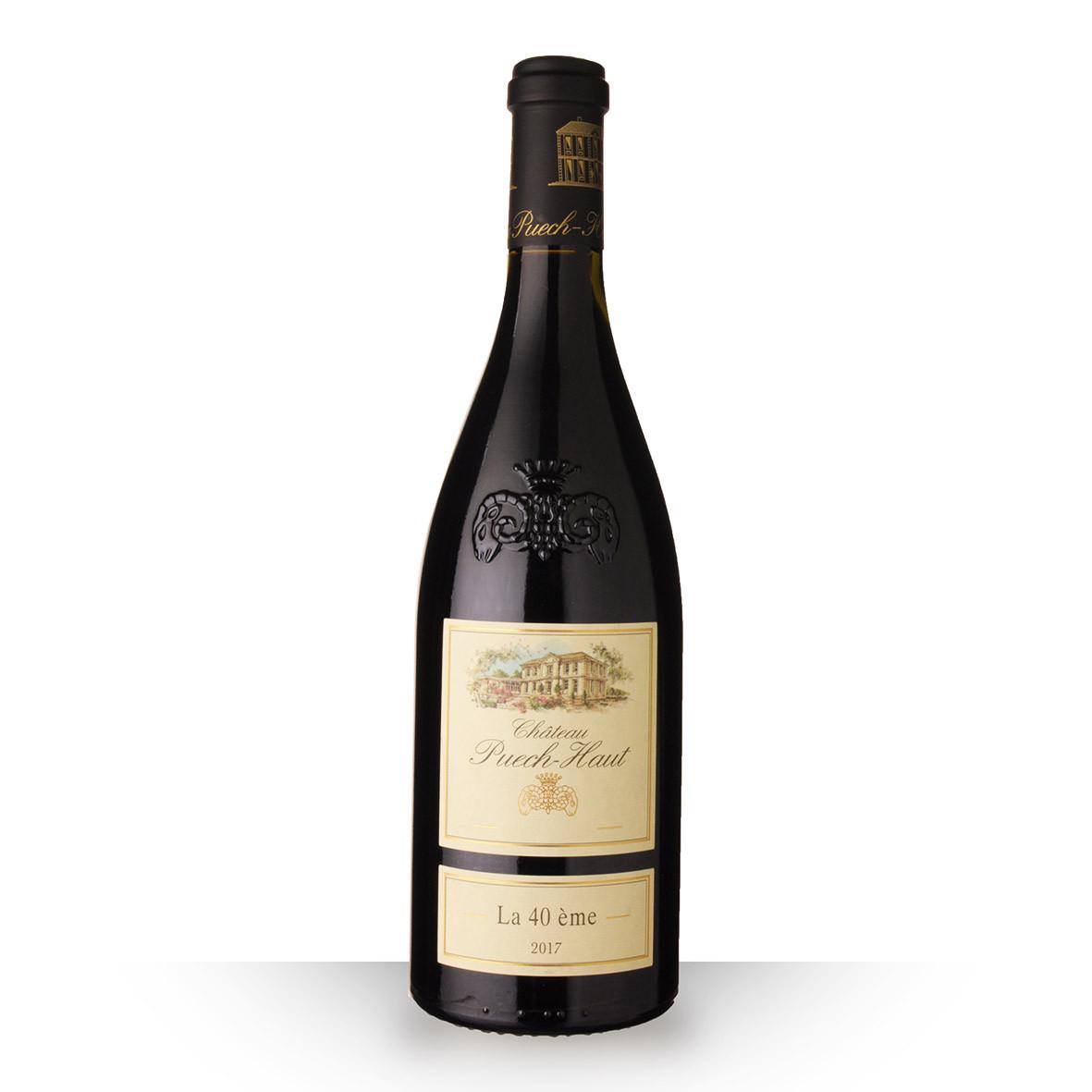 Château Puech-Haut la 40ème Languedoc Rouge 2017 75cl www.odyssee-vins.com