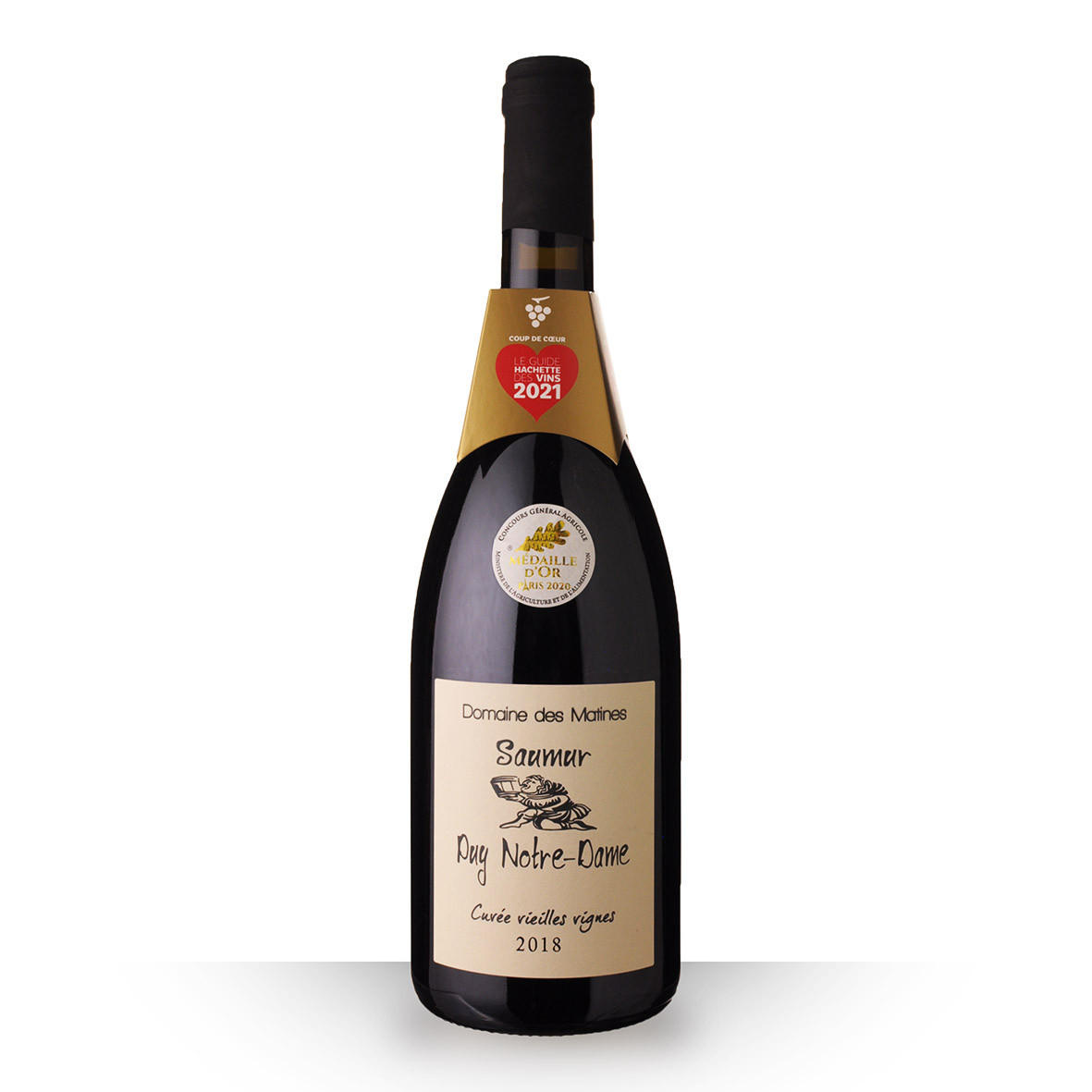 Domaine des Matines Saumur Puy Notre-Dame Rouge 2018 75cl www.odyssee-vins.com
