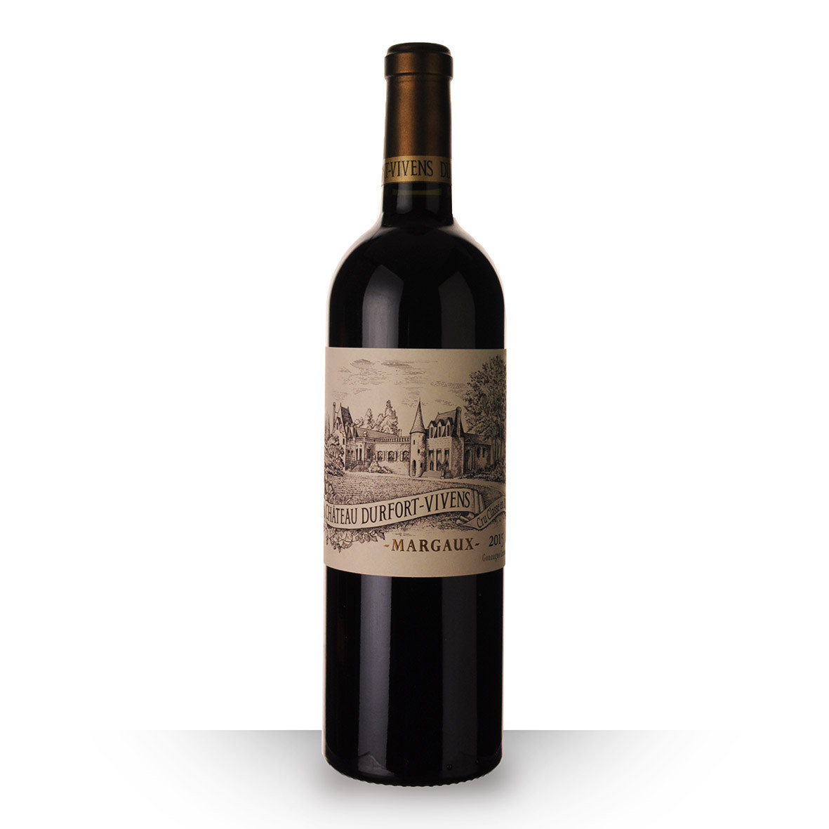 Château Durfort-Vivens Margaux Rouge 2015 75cl www.odyssee-vins.com