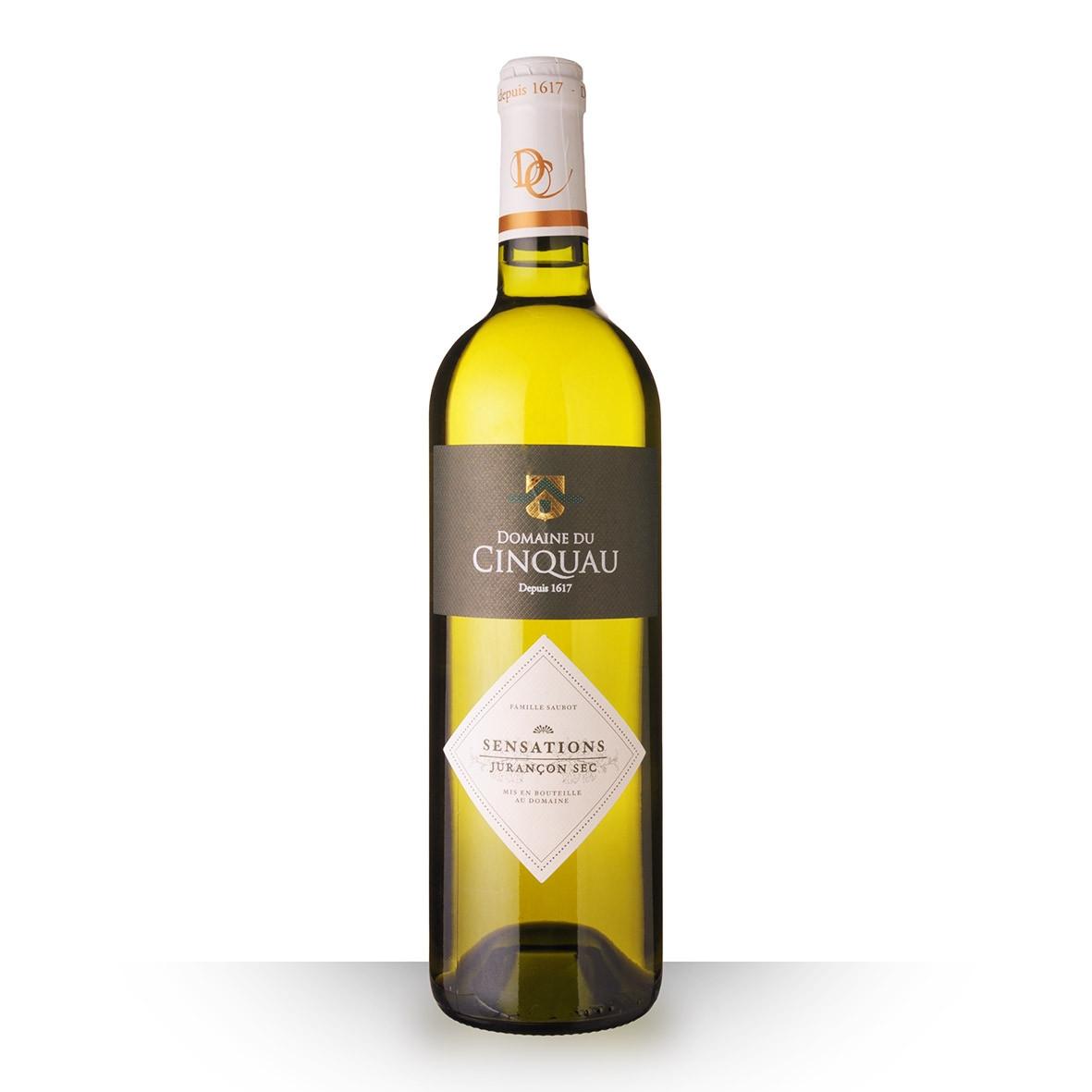 Domaine du Cinquau Sensations Jurançon Sec Blanc 2017 75cl www.odyssee-vins.com