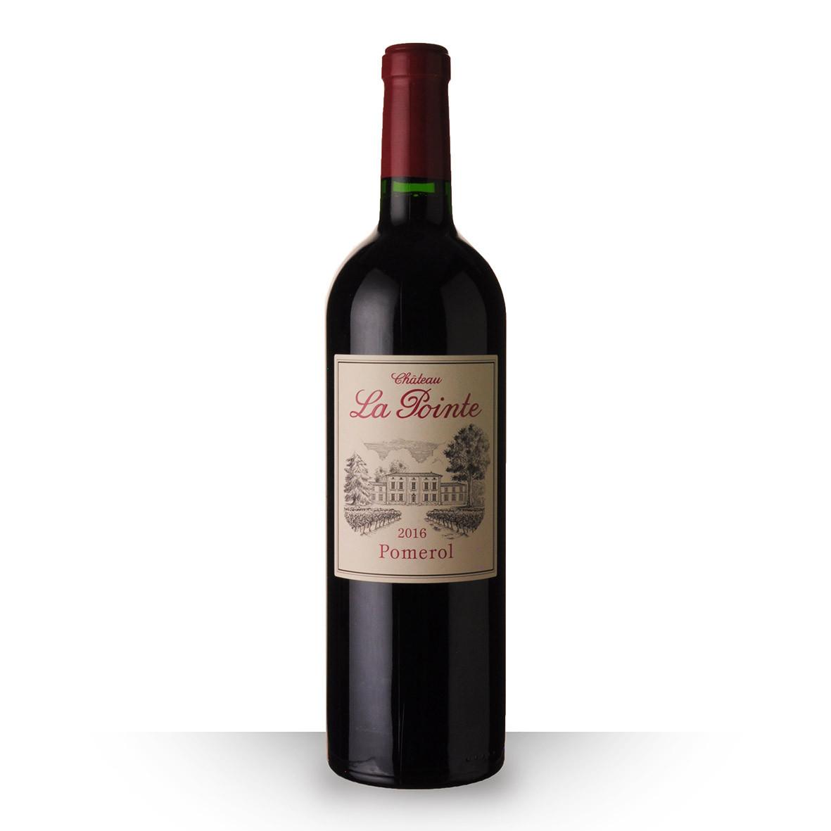 Château la Pointe Pomerol Rouge 2016 75cl www.odyssee-vins.com