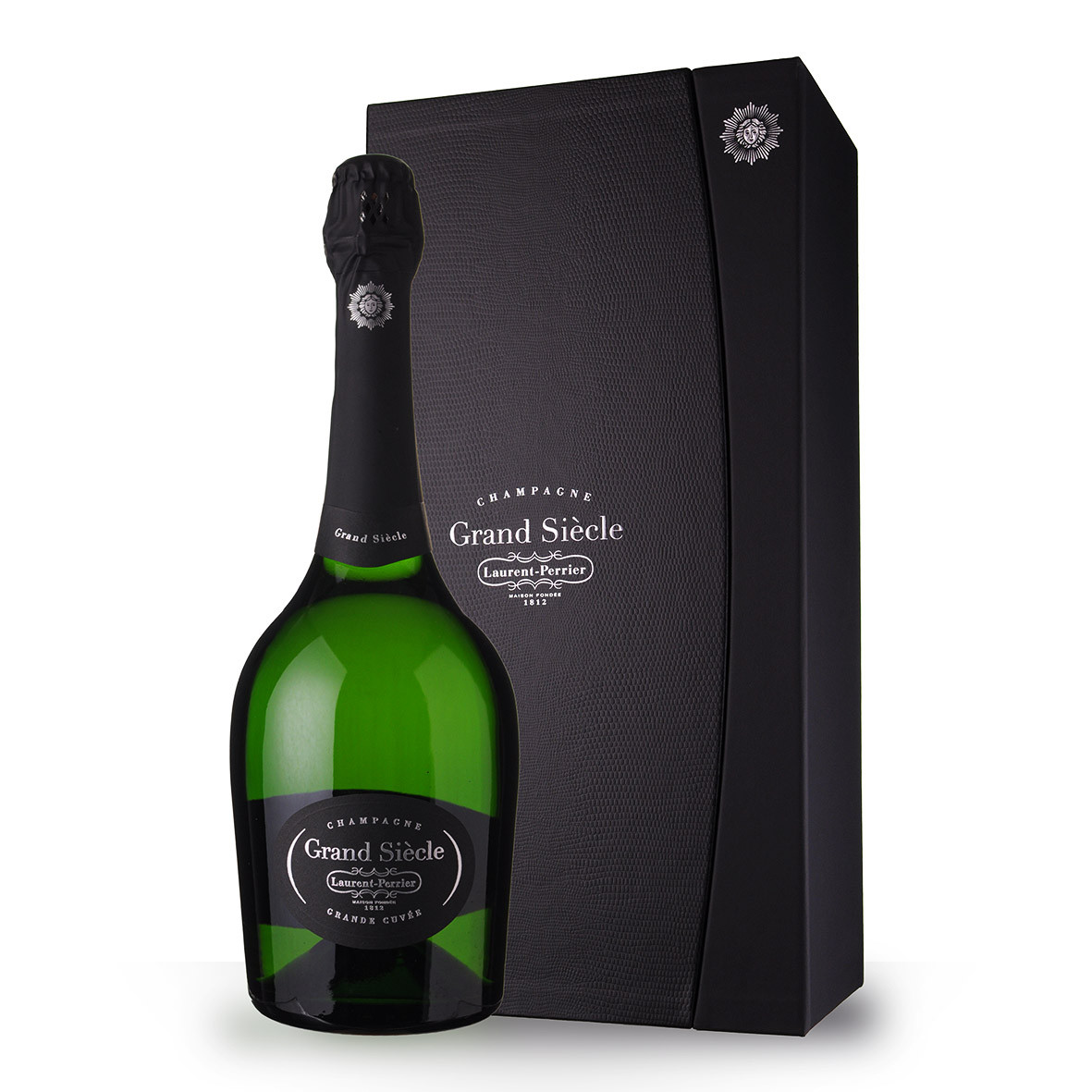 Champagne Laurent-Perrier Grand Siècle Brut 75cl Coffret www.odyssee-vins.com