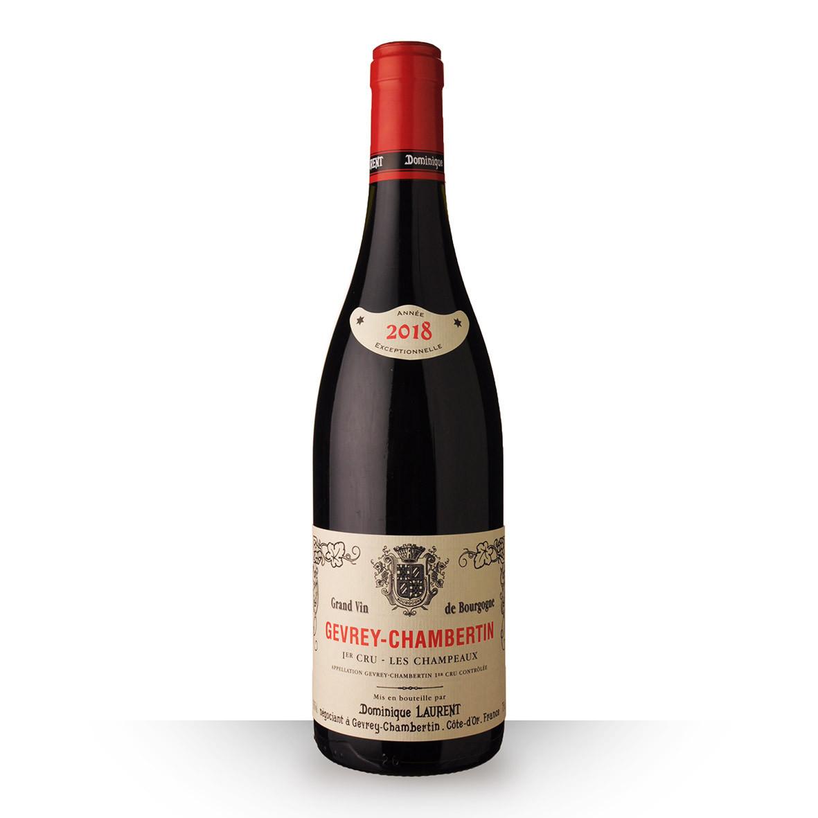 Dominique Laurent Vieilles Vignes Gevrey-Chambertin 1er Cru les Champeaux Rouge 2018 75cl www.odyssee-vins.com
