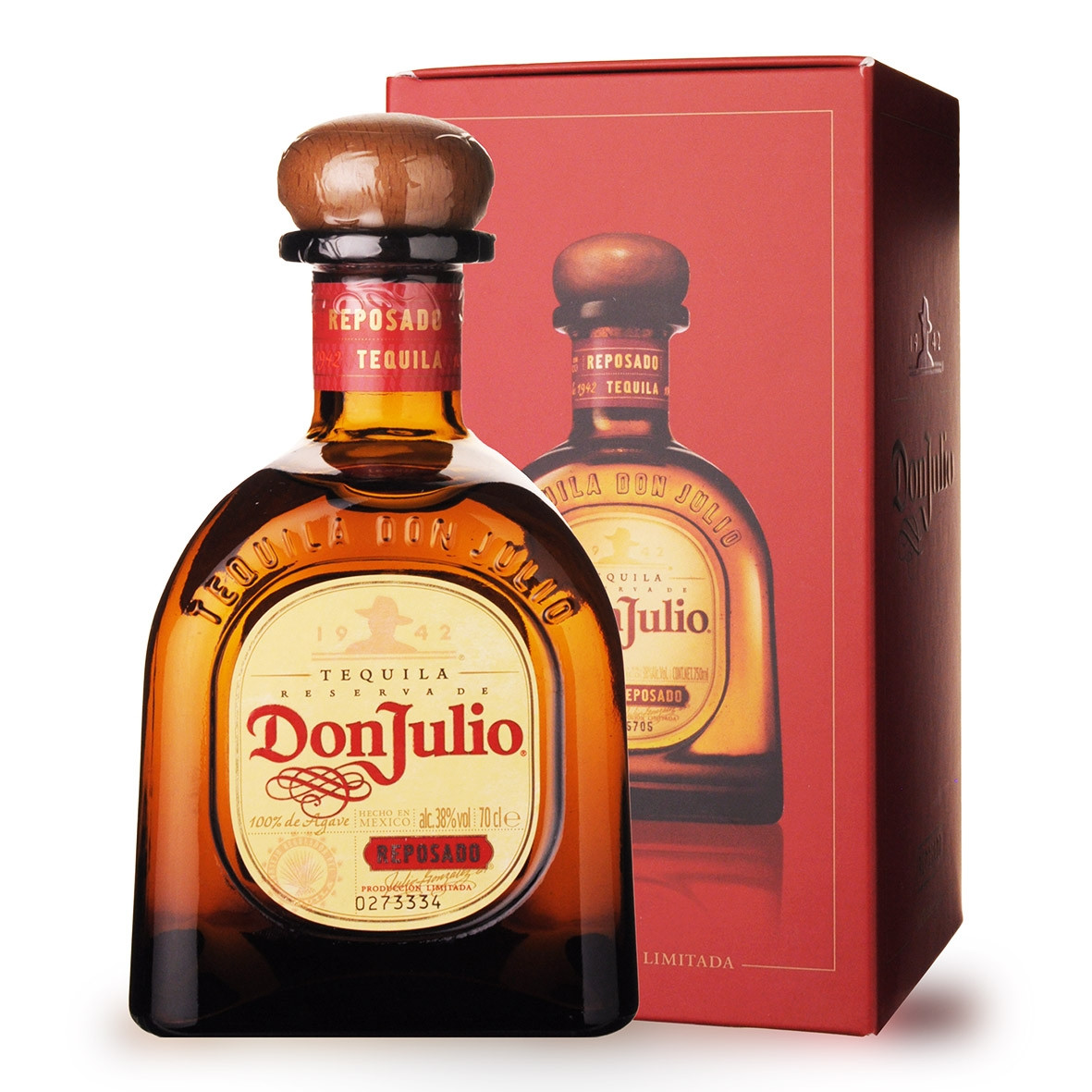 Tequila Don Julio Reposado 70cl Etui www.odyssee-vins.com