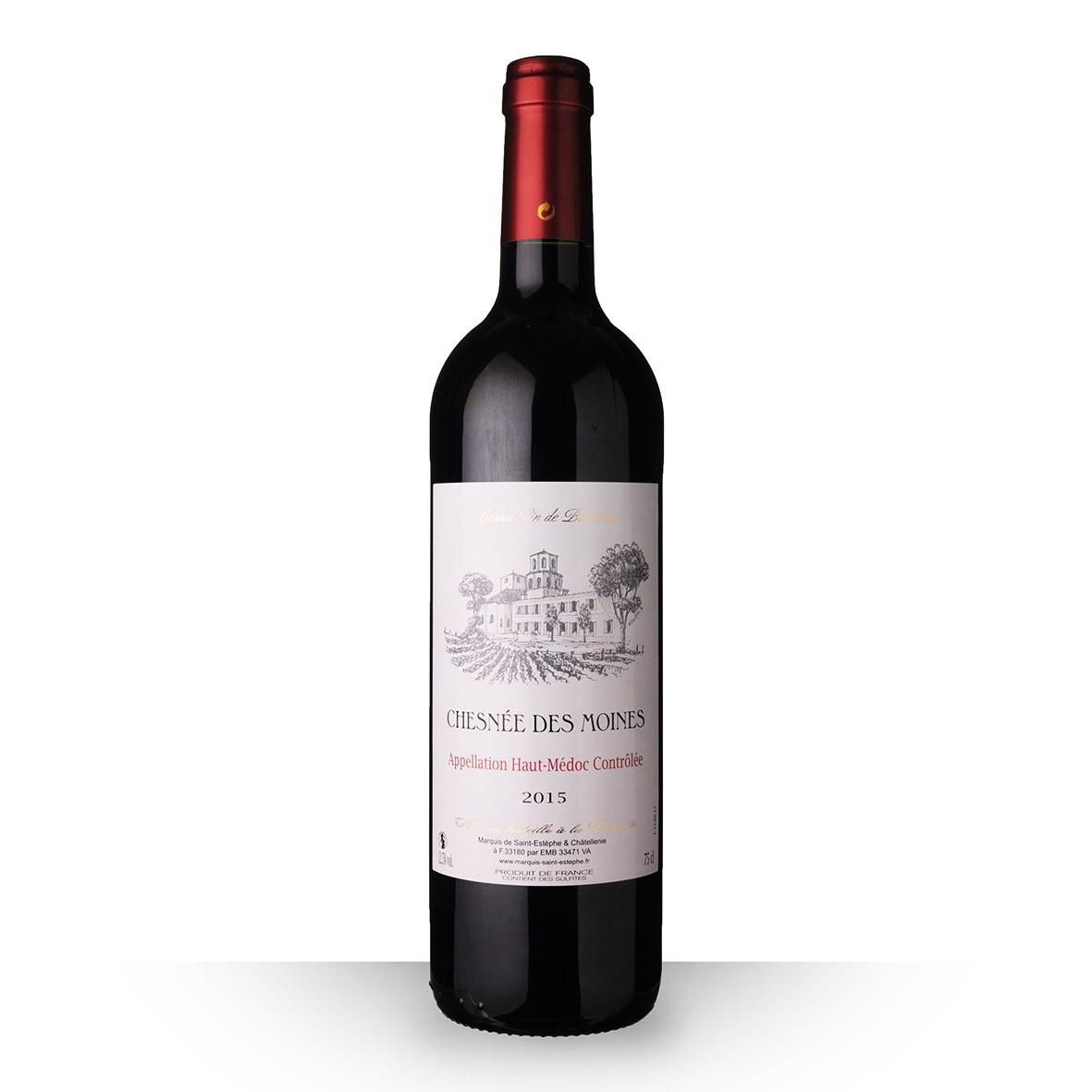 Chesnée des Moines Haut-Médoc Rouge 2015 75cl www.odyssee-vins.com