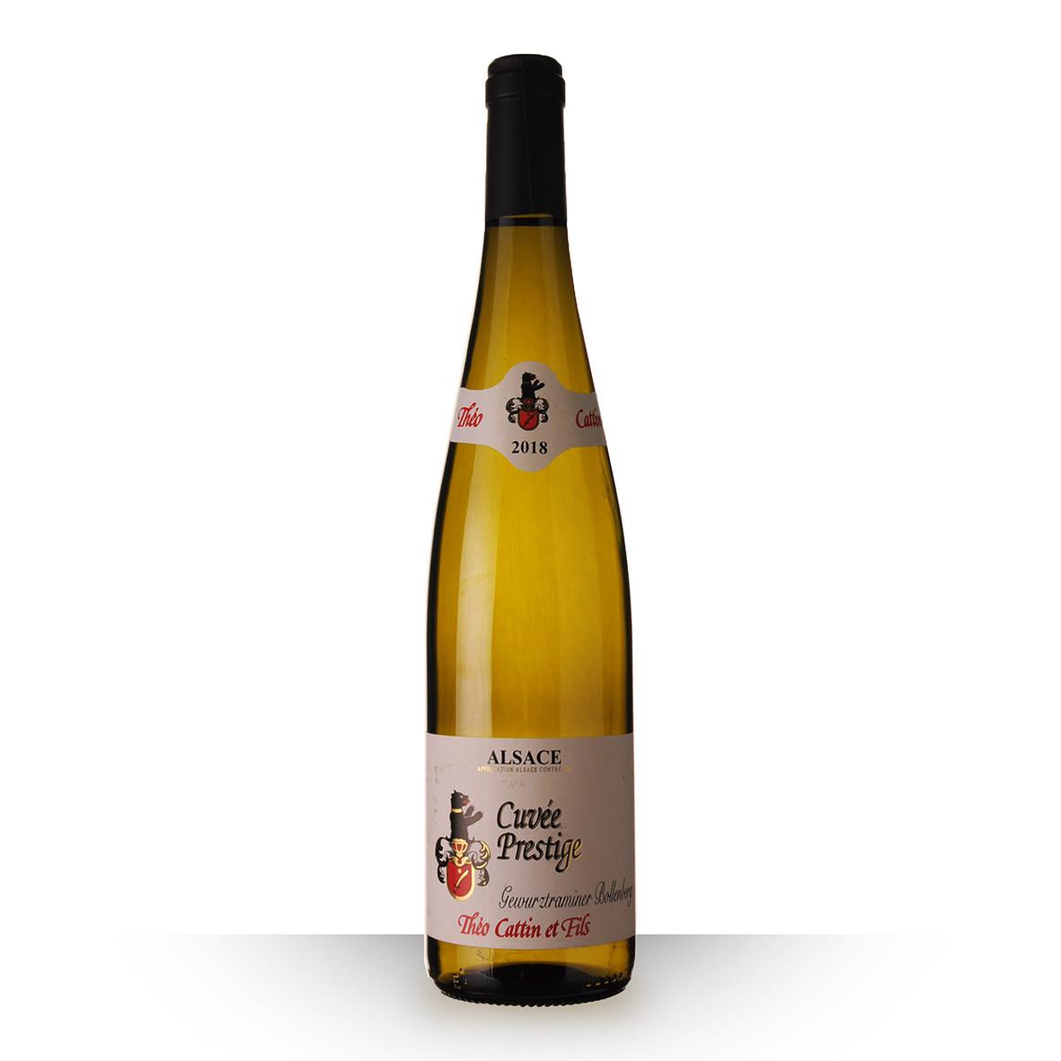 Théo Cattin Prestige Alsace Gewurztraminer Bollenberg Blanc 2018 75cl www.odyssee-vins.com