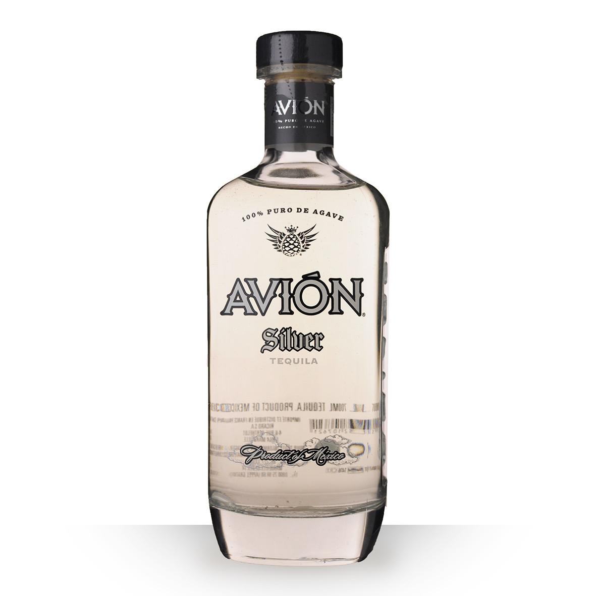 Tequila Avión Silver 70cl www.odyssee-vins.com