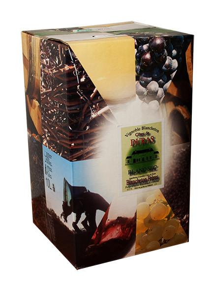 Bag-in-Box 5L Vignobles Blancheton Côtes de Duras Blanc www.odyssee-vins.com