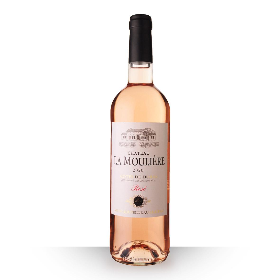 Château la Moulière Côtes de Duras Rosé 2020 75cl www.odyssee-vins.com