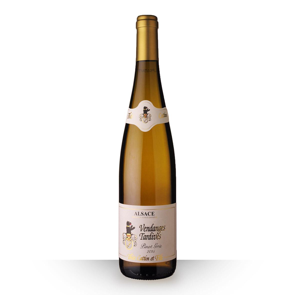 Théo Cattin Vendanges Tardives Alsace Pinot Gris Blanc 2015 75cl www.odyssee-vins.com