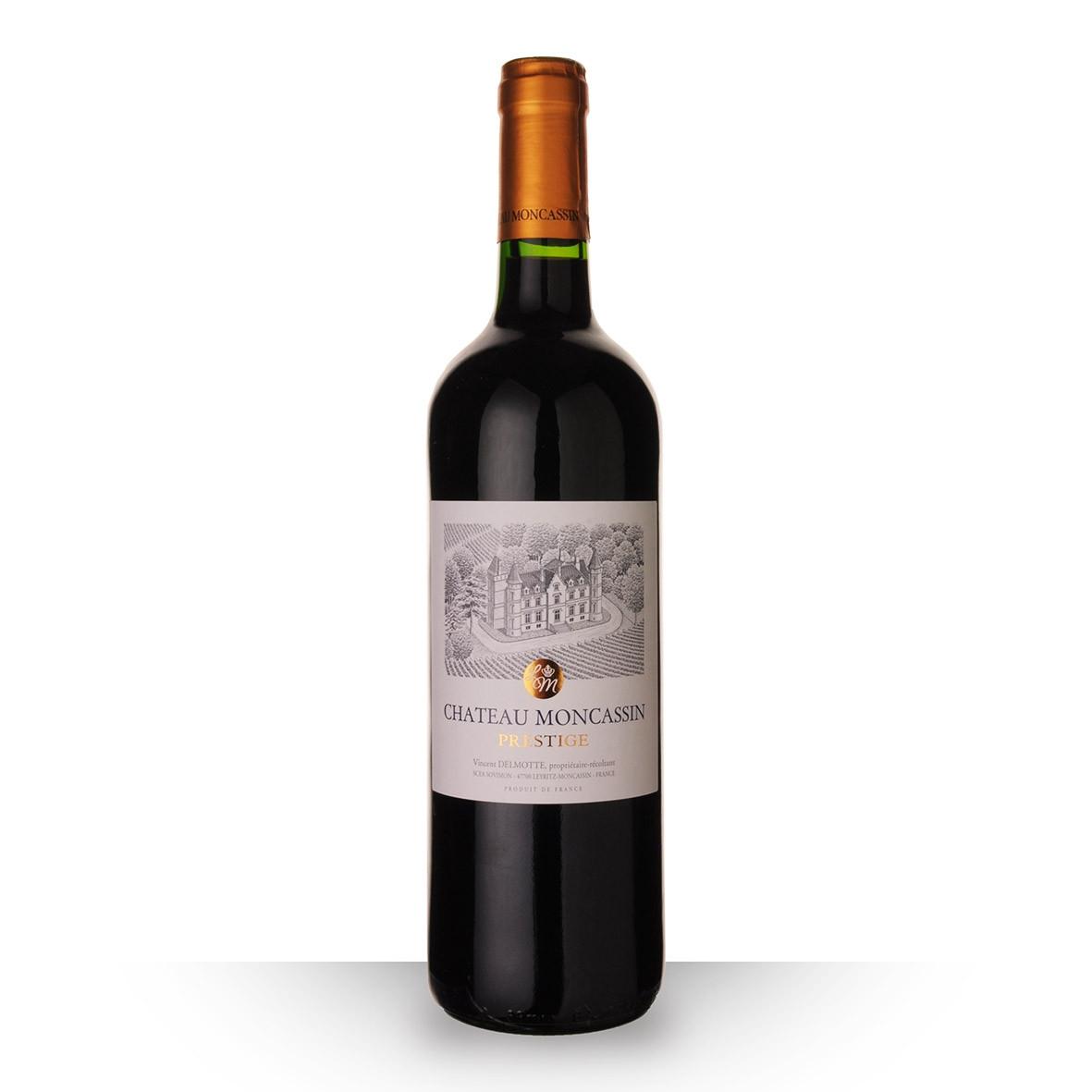 Château Moncassin Prestige Buzet Rouge 2016 75cl www.odyssee-vins.com