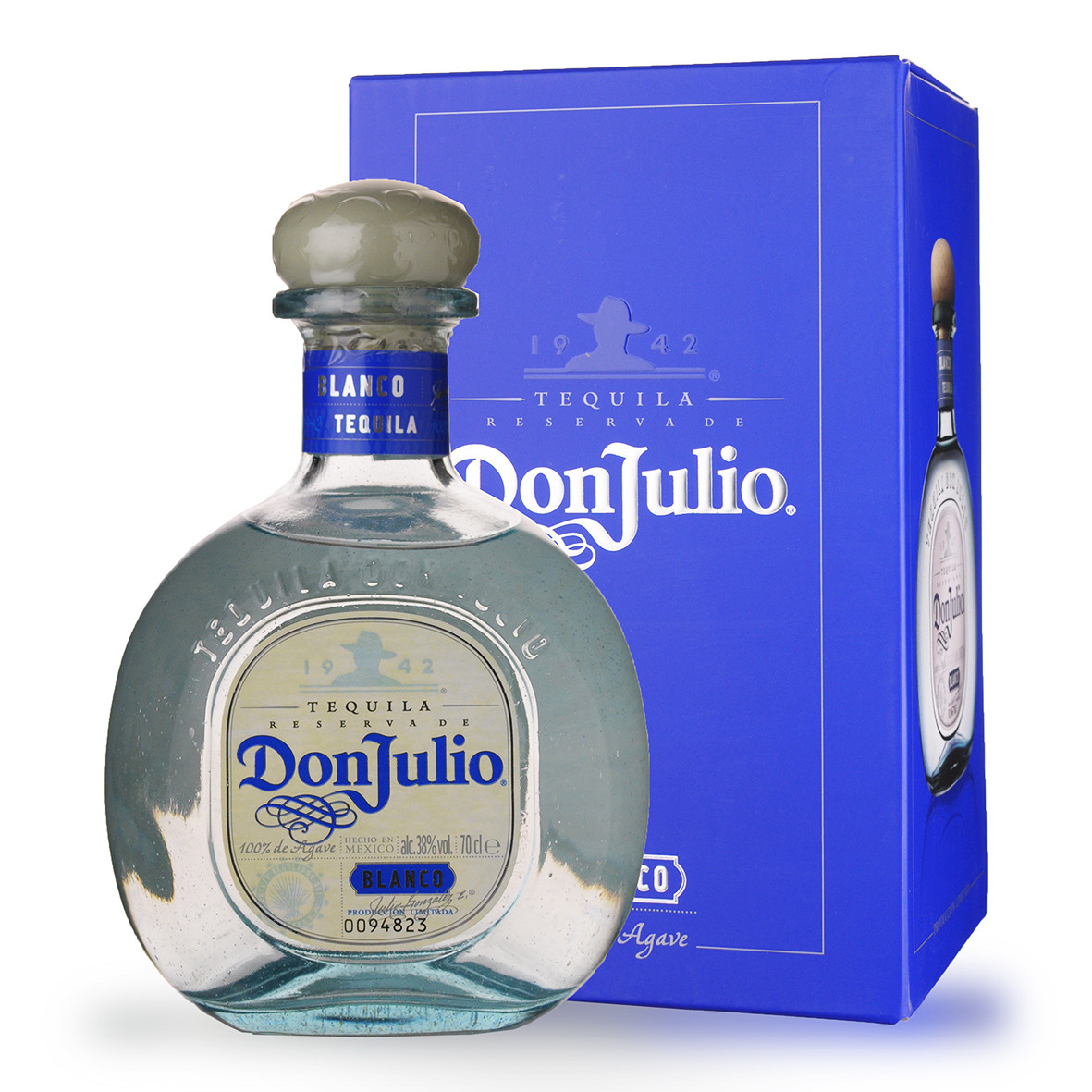 Tequila Don Julio Blanco 70cl Etui www.odyssee-vins.com
